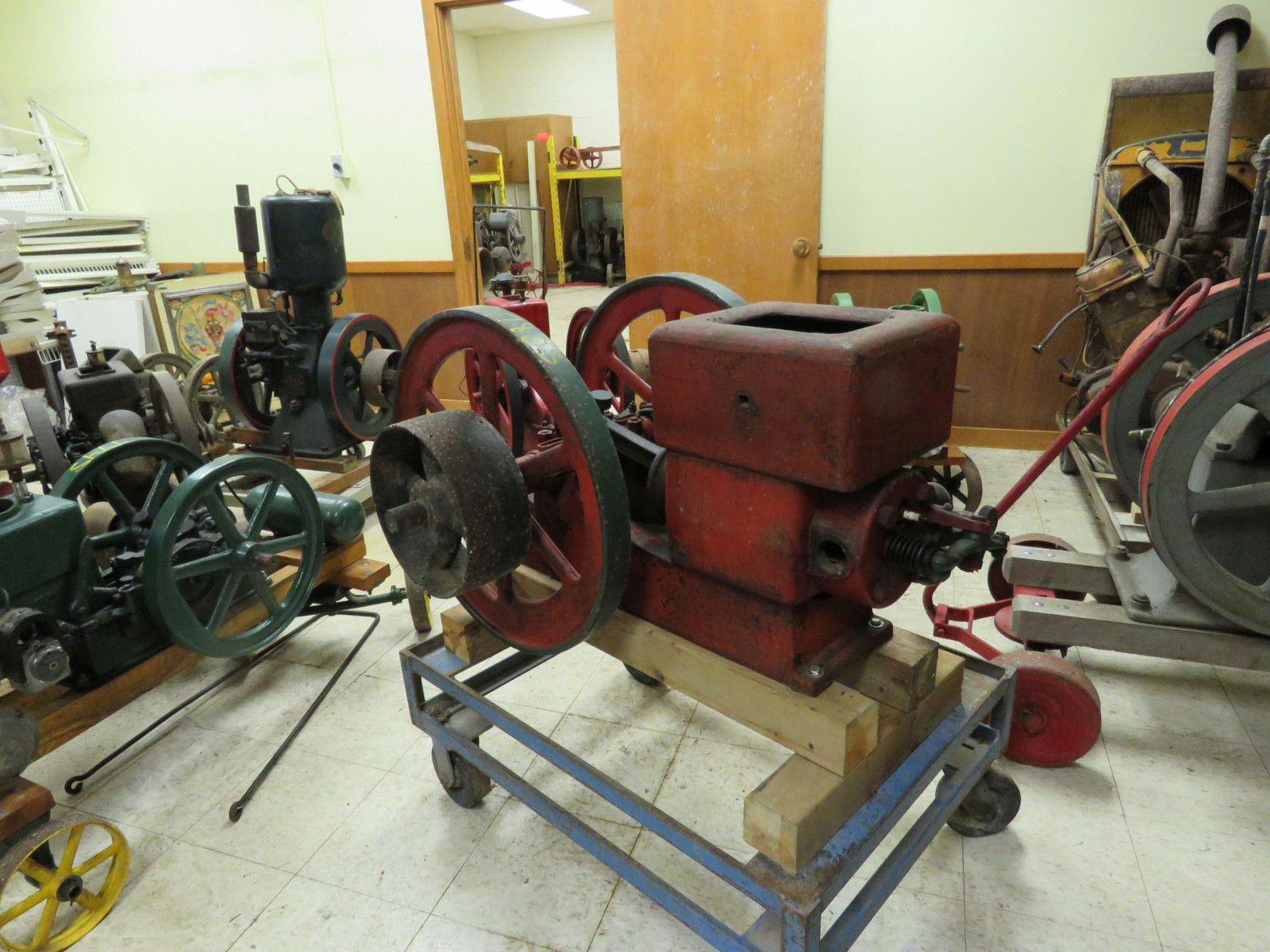 Meco 3HP Stationary Gas Engine - Image 2