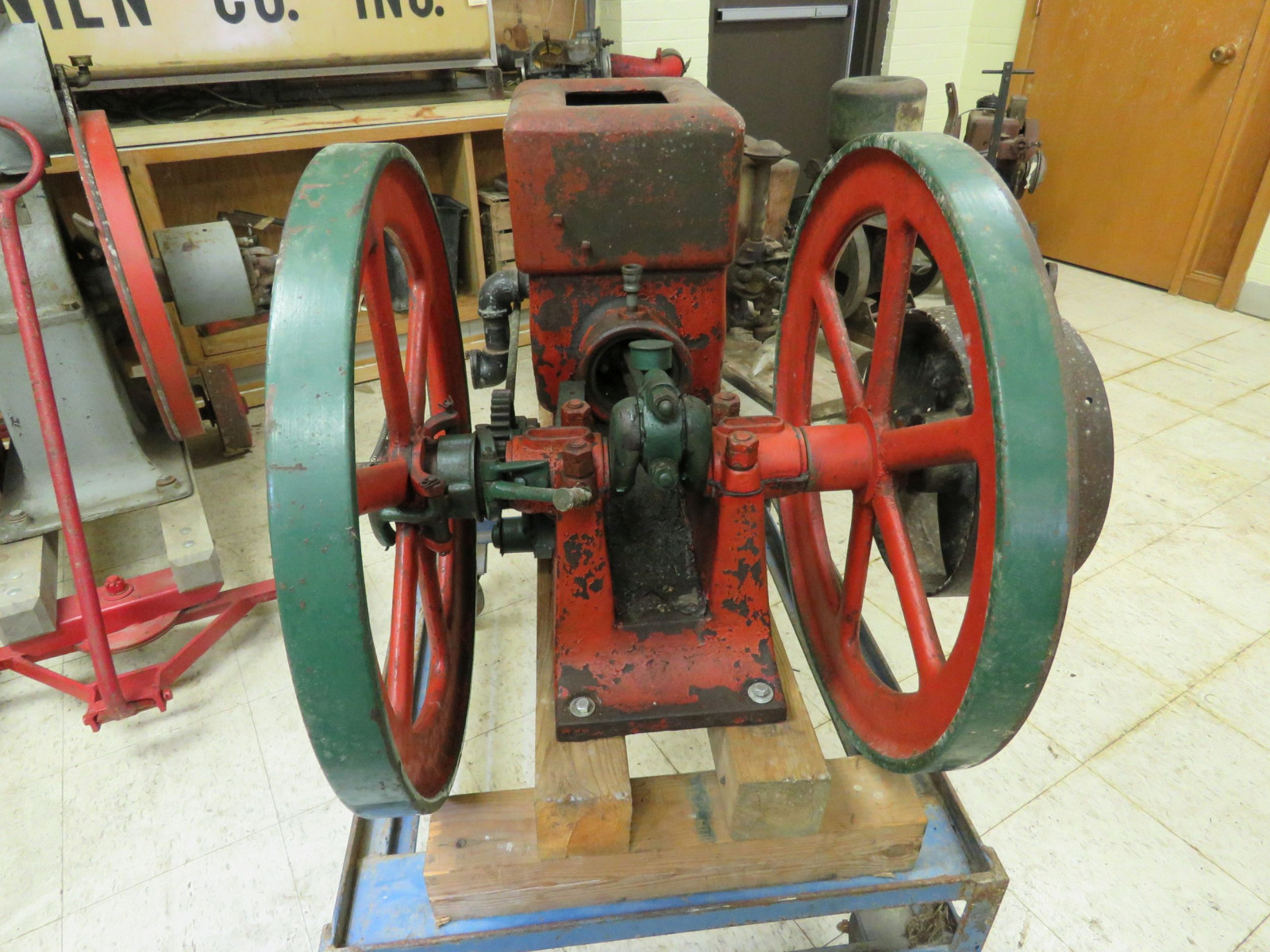 Meco 3HP Stationary Gas Engine - Image 3