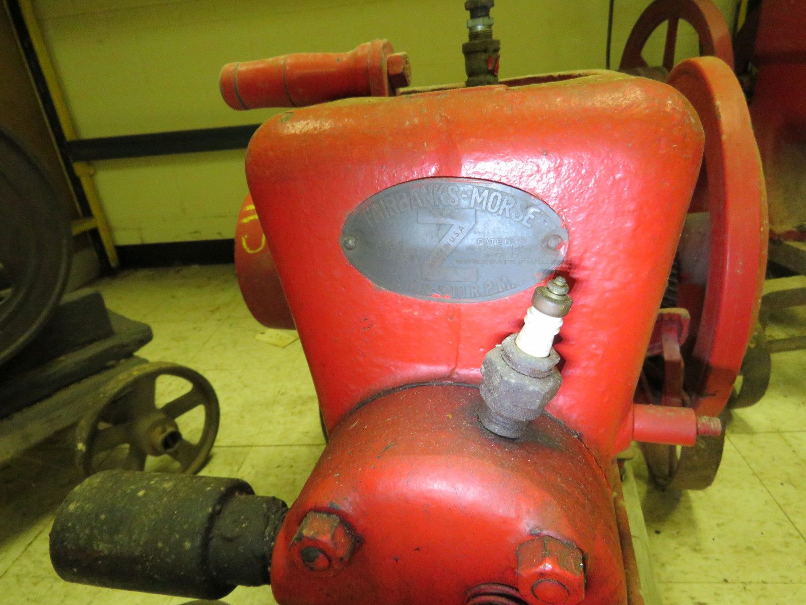 Fairbanks Morse Type Z 1 1/2 HP Stationary Gas Engine - Image 4