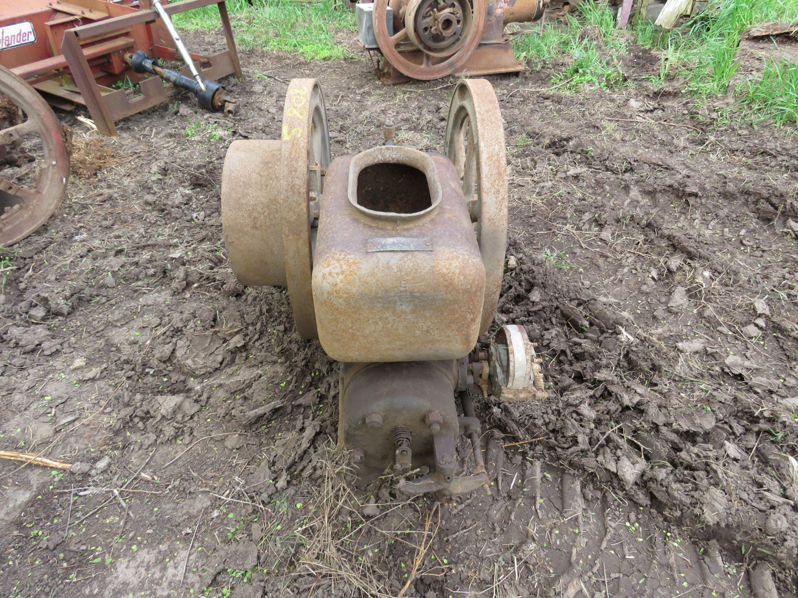 5Hp Stationary Gas engine 191673 - Image 3
