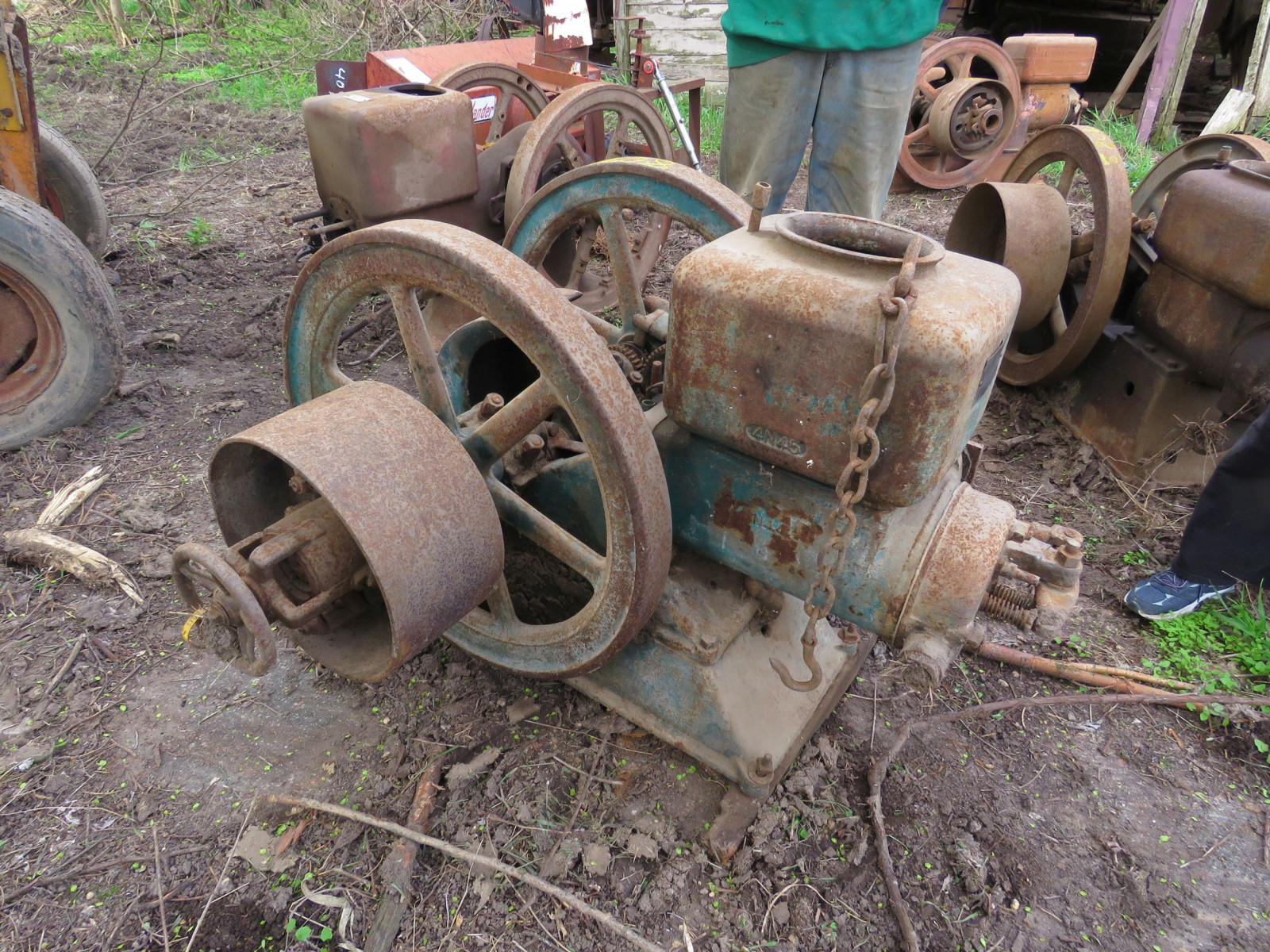 National Type A 5hp Stationary Gas Engine - Image 3
