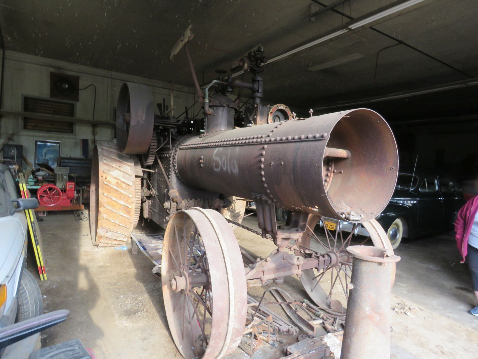Case Steam Traction Engine - Image 2