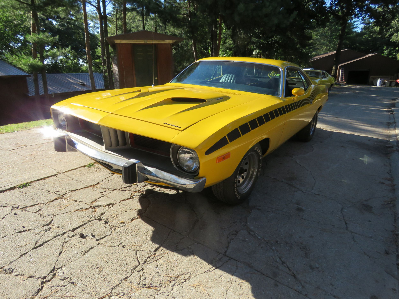 1973 Plymouth Barracuda 2dr HT - Image 1