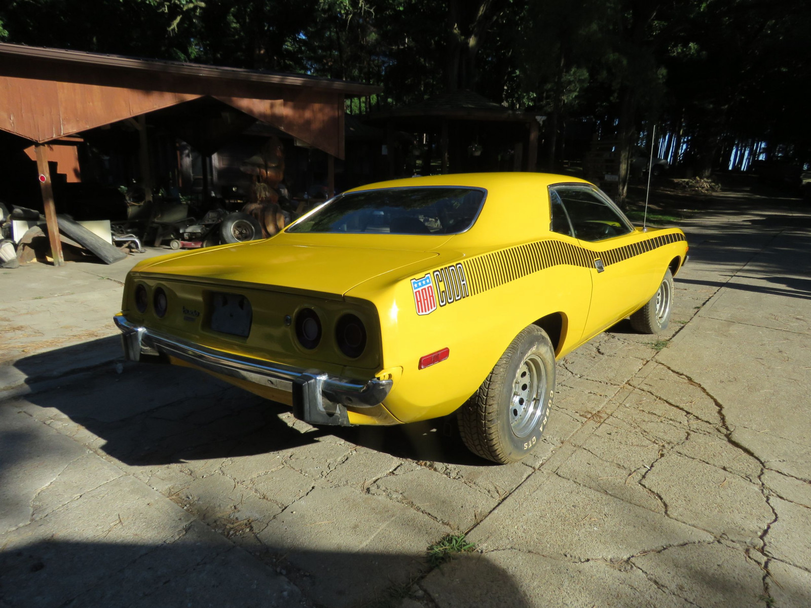 Lot 19B – 1973 Plymouth Barracuda 2dr HT | VanderBrink Auctions