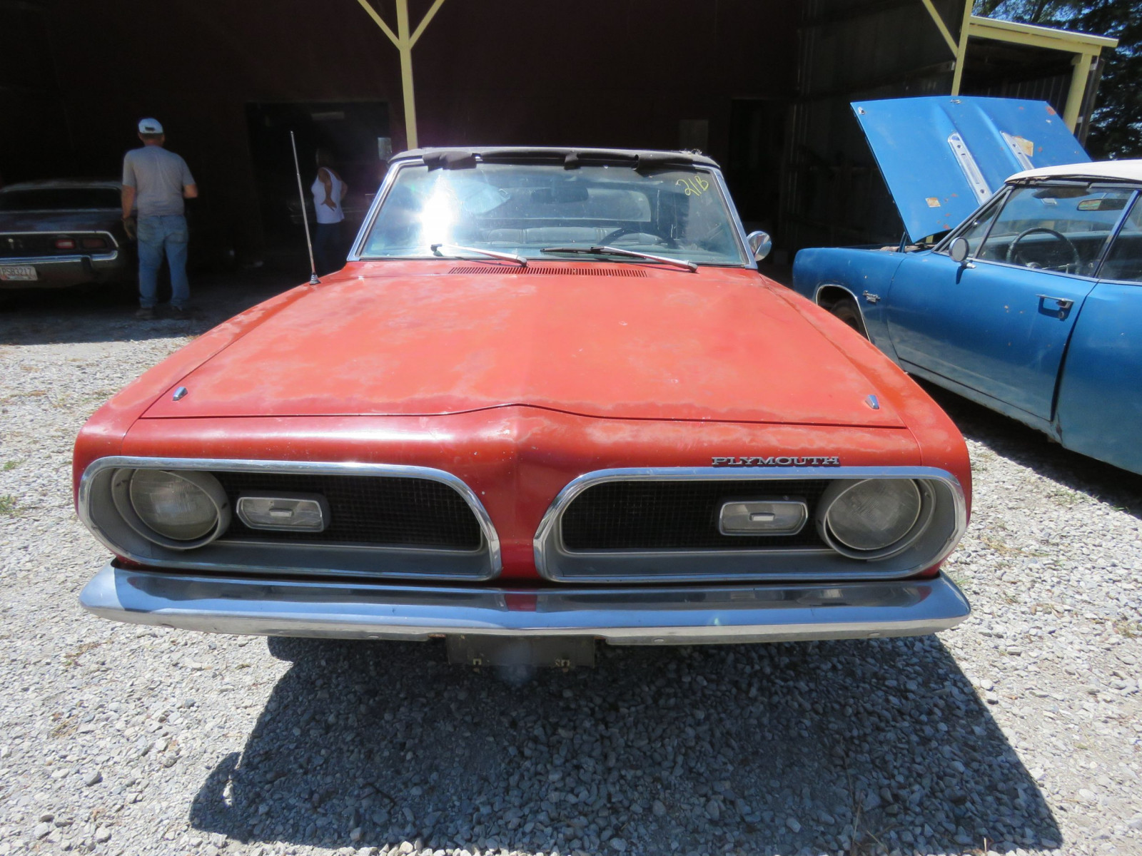 1969 Plymouth Barracuda Convertible - Image 2
