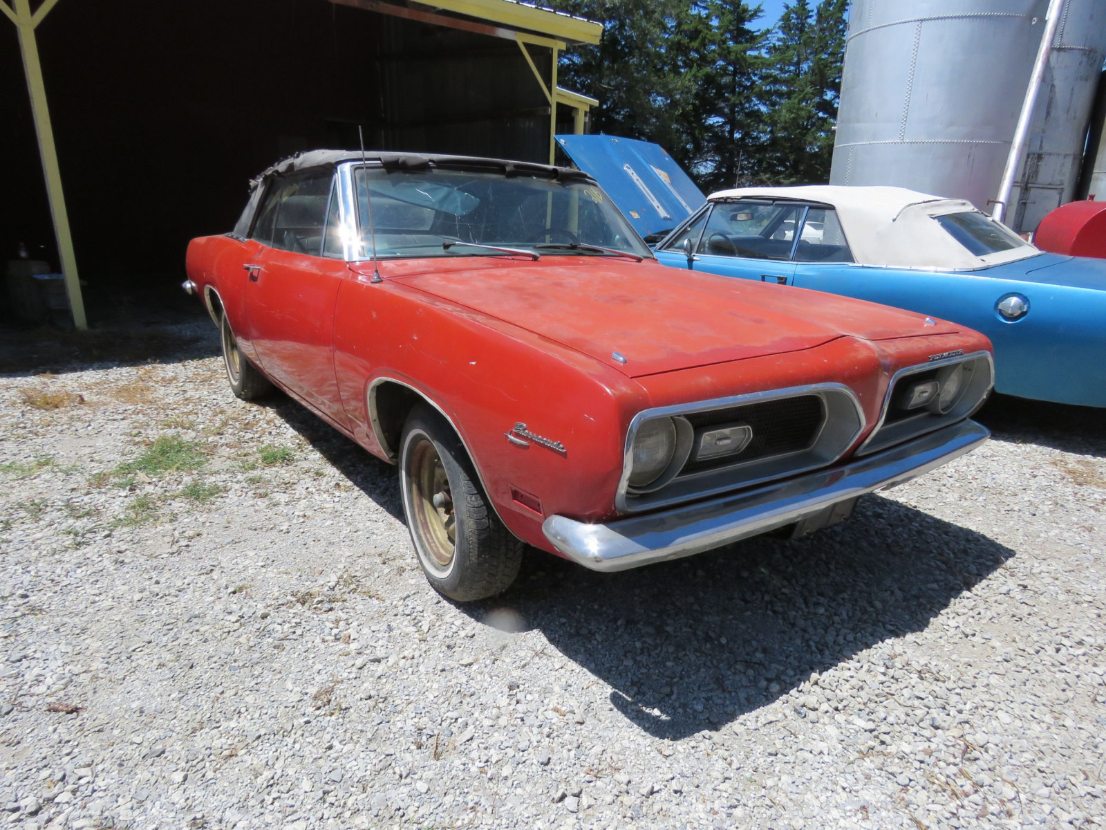 1969 Plymouth Barracuda Convertible - Image 3