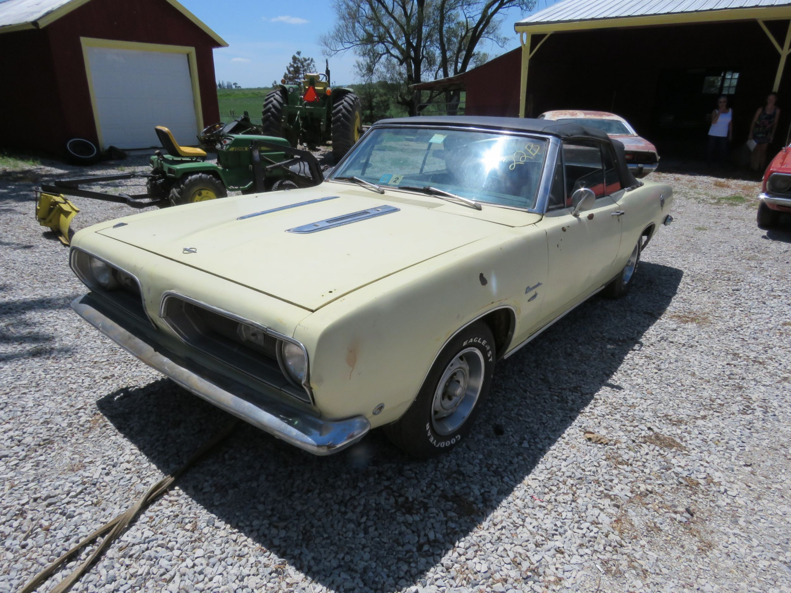 1968 Plymouth Barracuda Convertible - Image 1