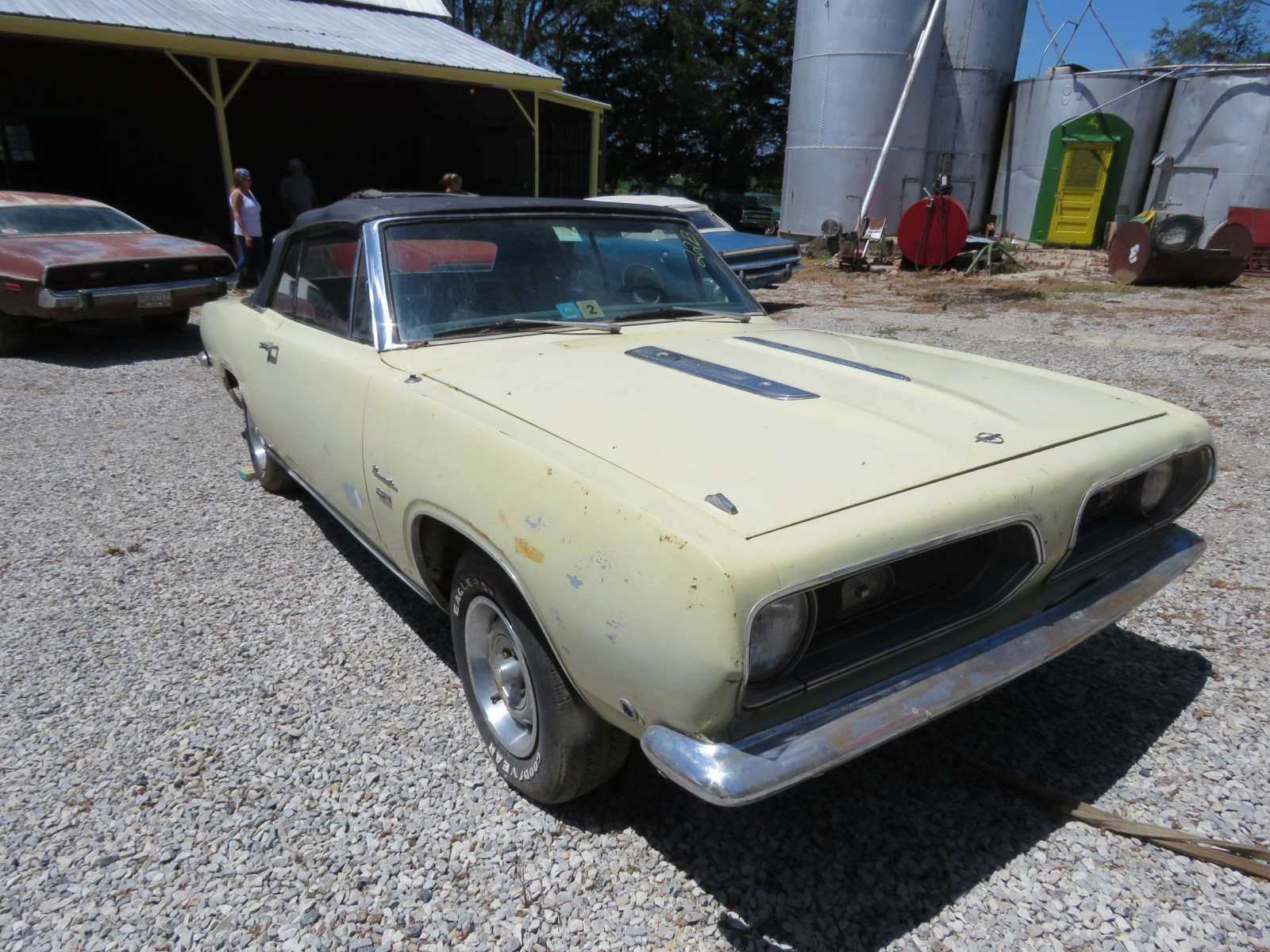 1968 Plymouth Barracuda Convertible - Image 3
