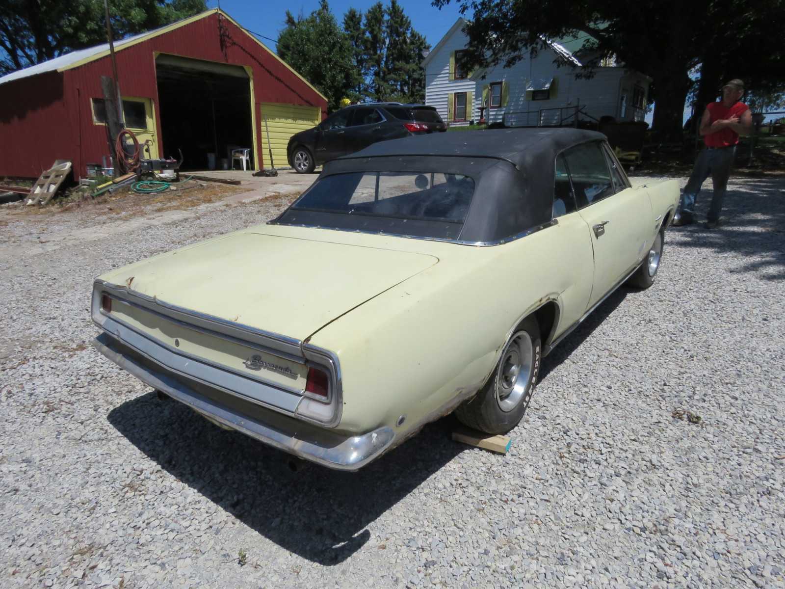 1968 Plymouth Barracuda Convertible - Image 6