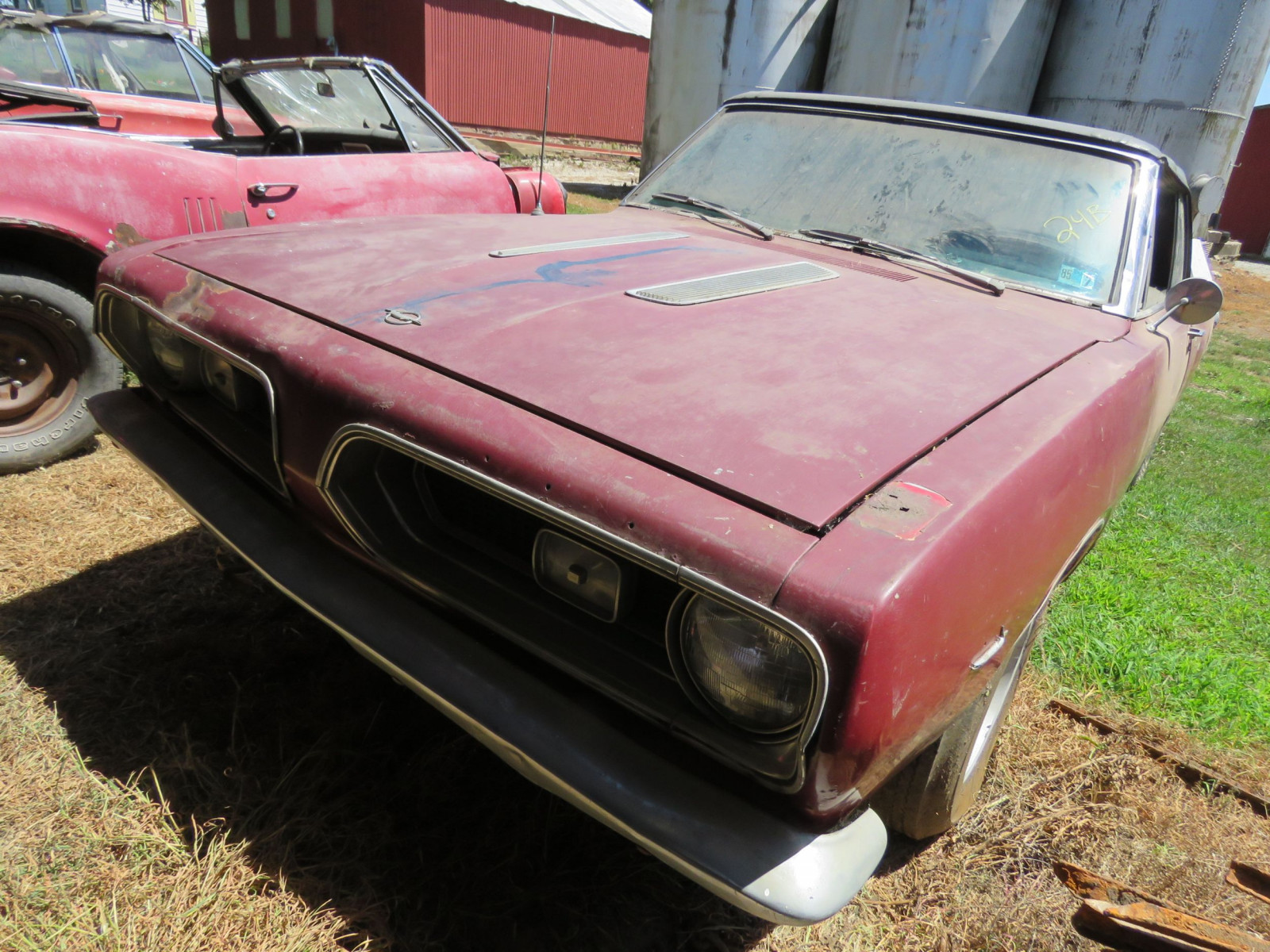 1967 Plymouth Barracuda Convertible - Image 3