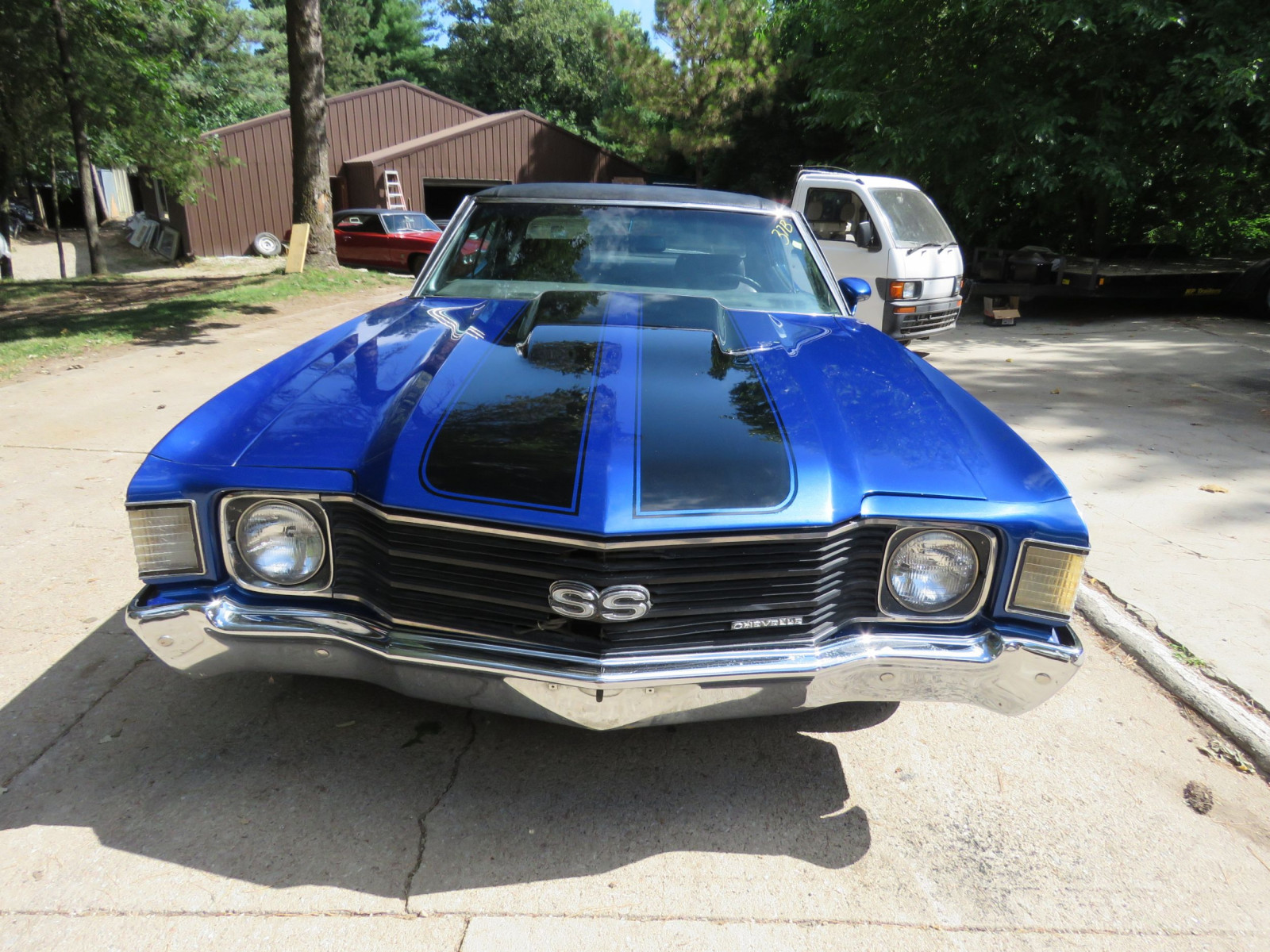 1972 Chevrolet Chevelle SS 2dr HT - Image 2