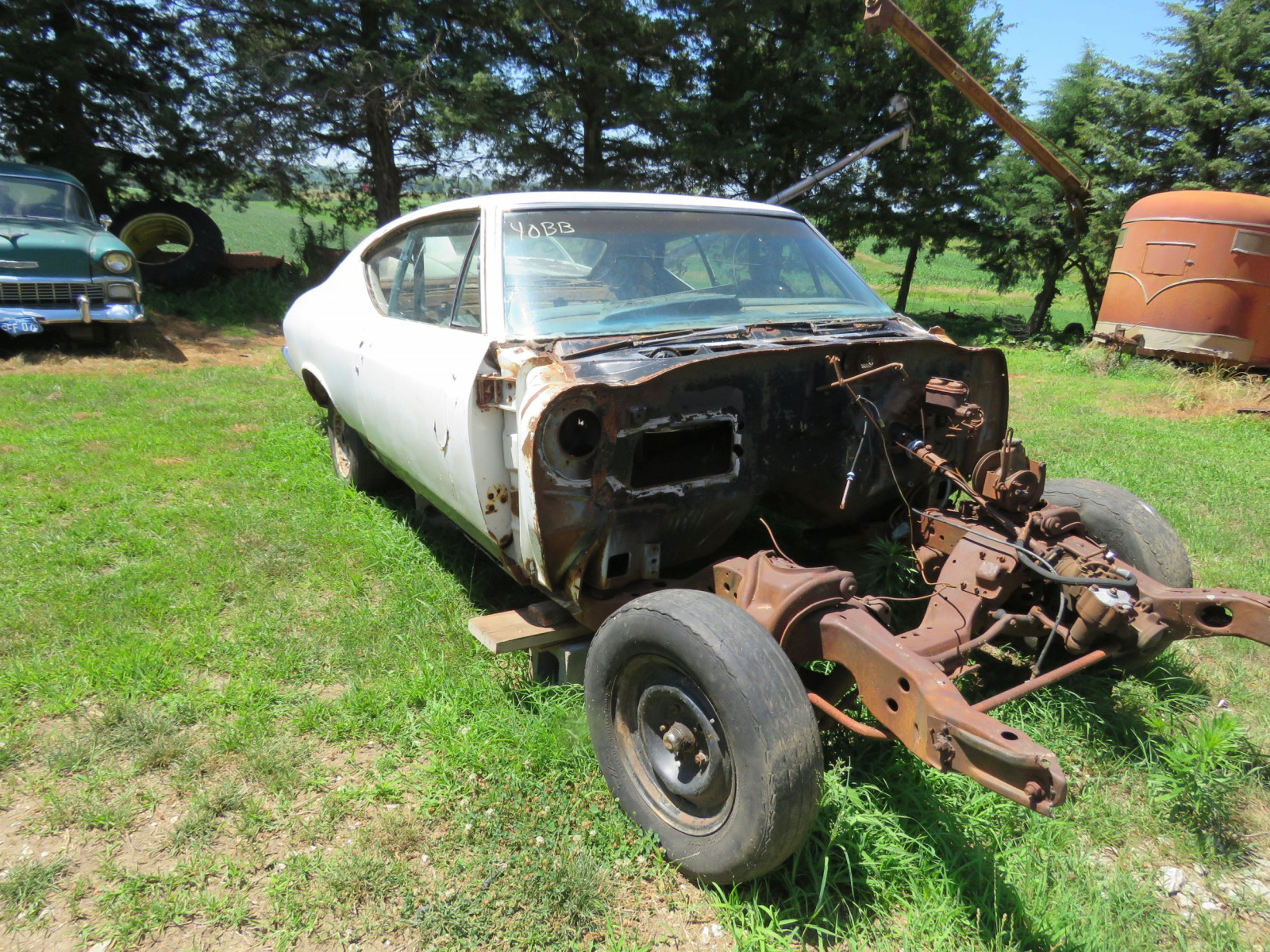 1968 Chevrolet Chevelle 2dr HT Project or Parts - Image 1