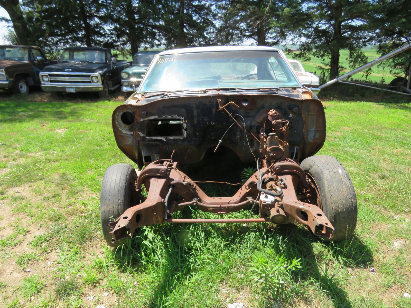 1968 Chevrolet Chevelle 2dr HT Project or Parts - Image 2