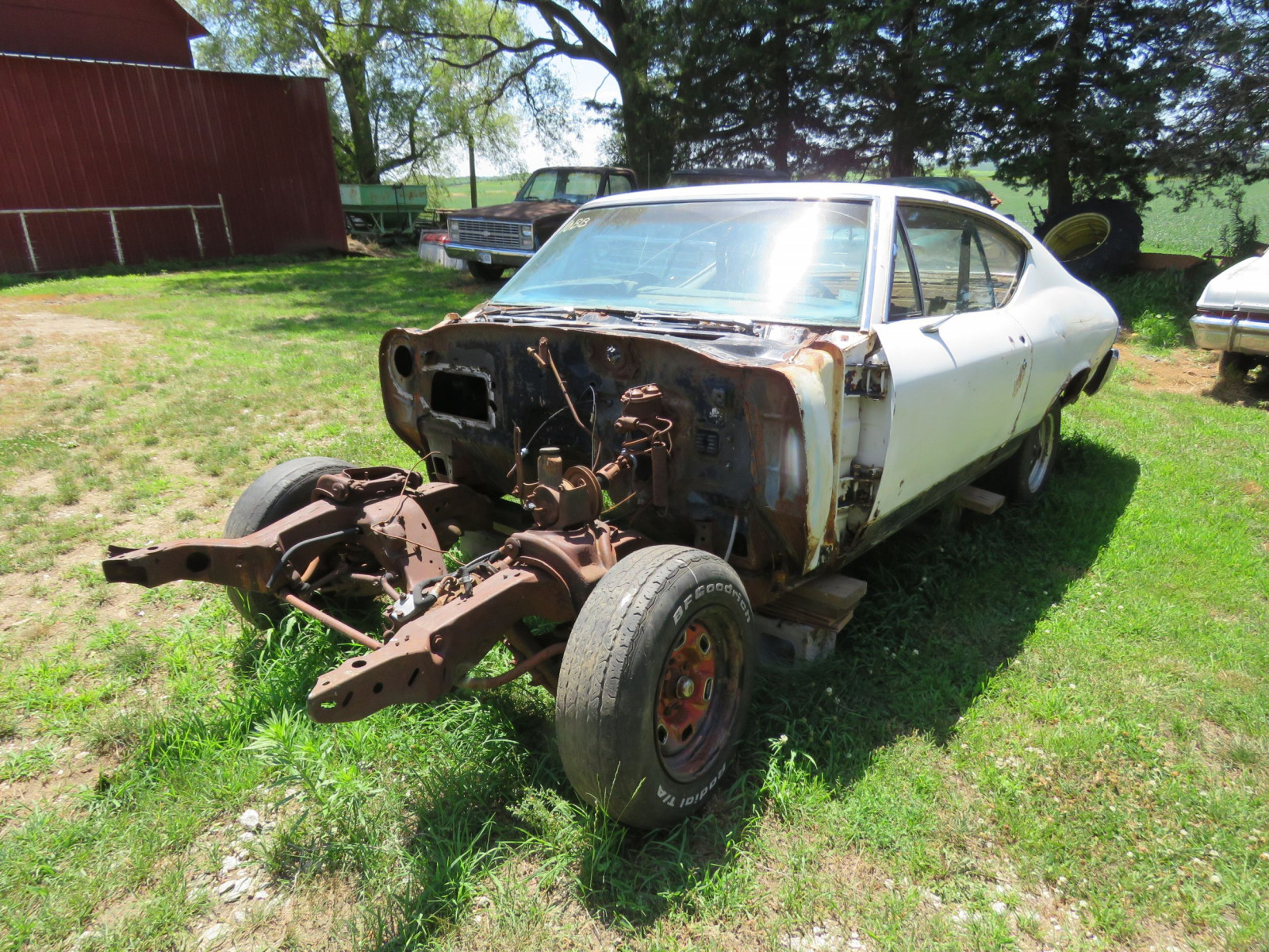 1968 Chevrolet Chevelle 2dr HT Project or Parts - Image 3