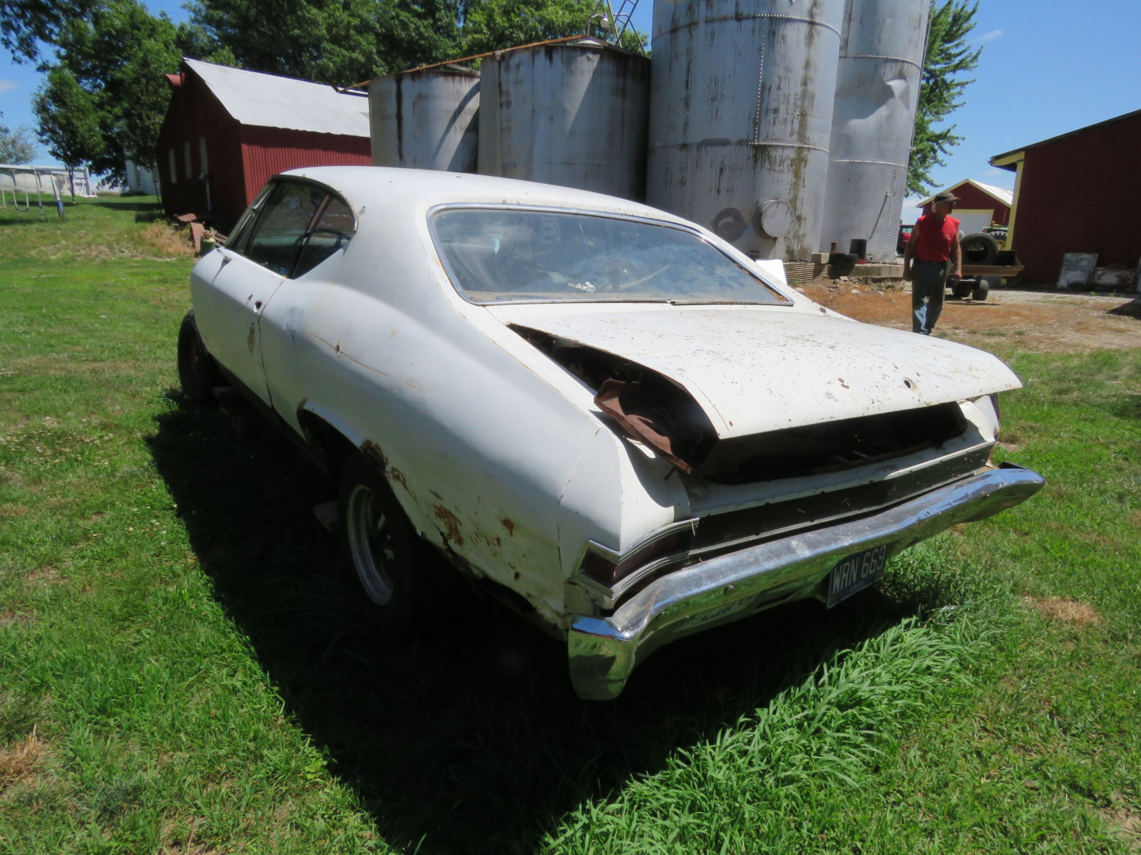 1968 Chevrolet Chevelle 2dr HT Project or Parts - Image 6