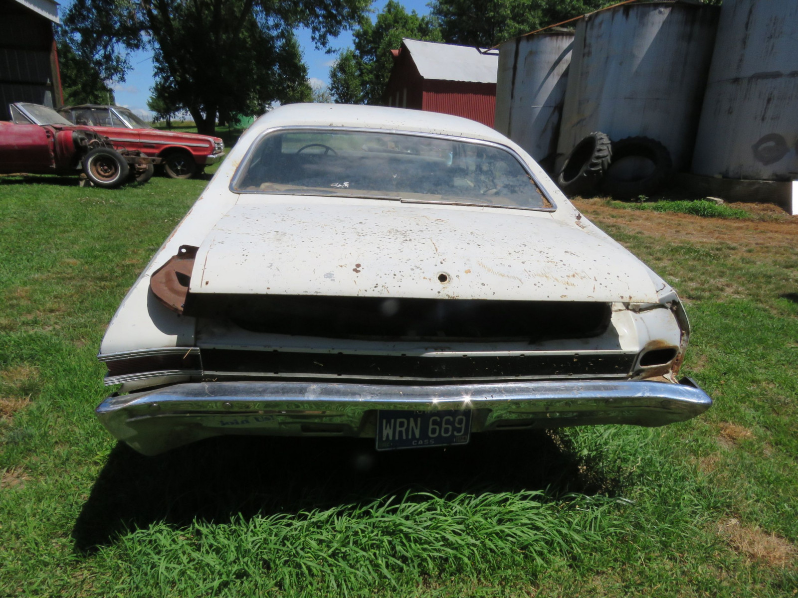 1968 Chevrolet Chevelle 2dr HT Project or Parts - Image 7