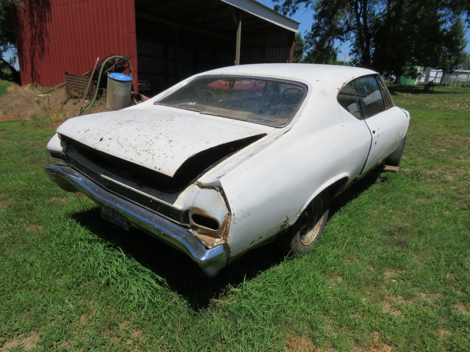1968 Chevrolet Chevelle 2dr HT Project or Parts - Image 8