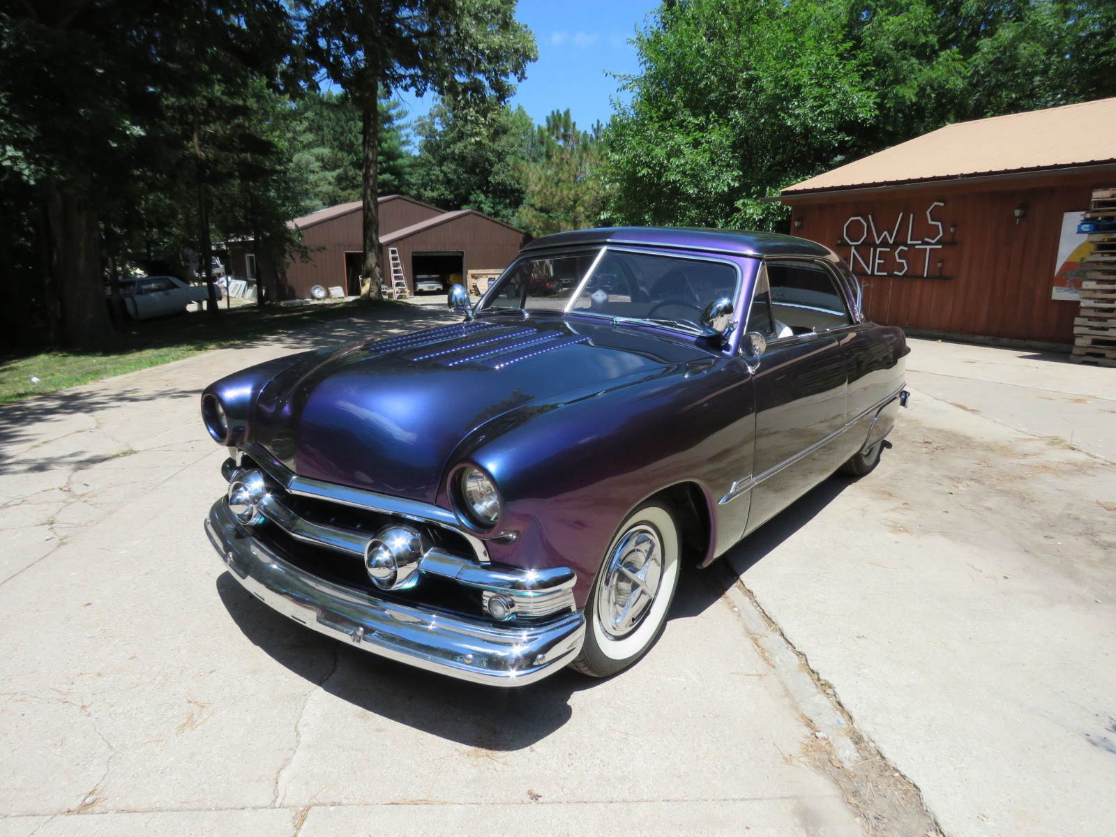 1951 Ford Victoria Custom 2dr HT - Image 3