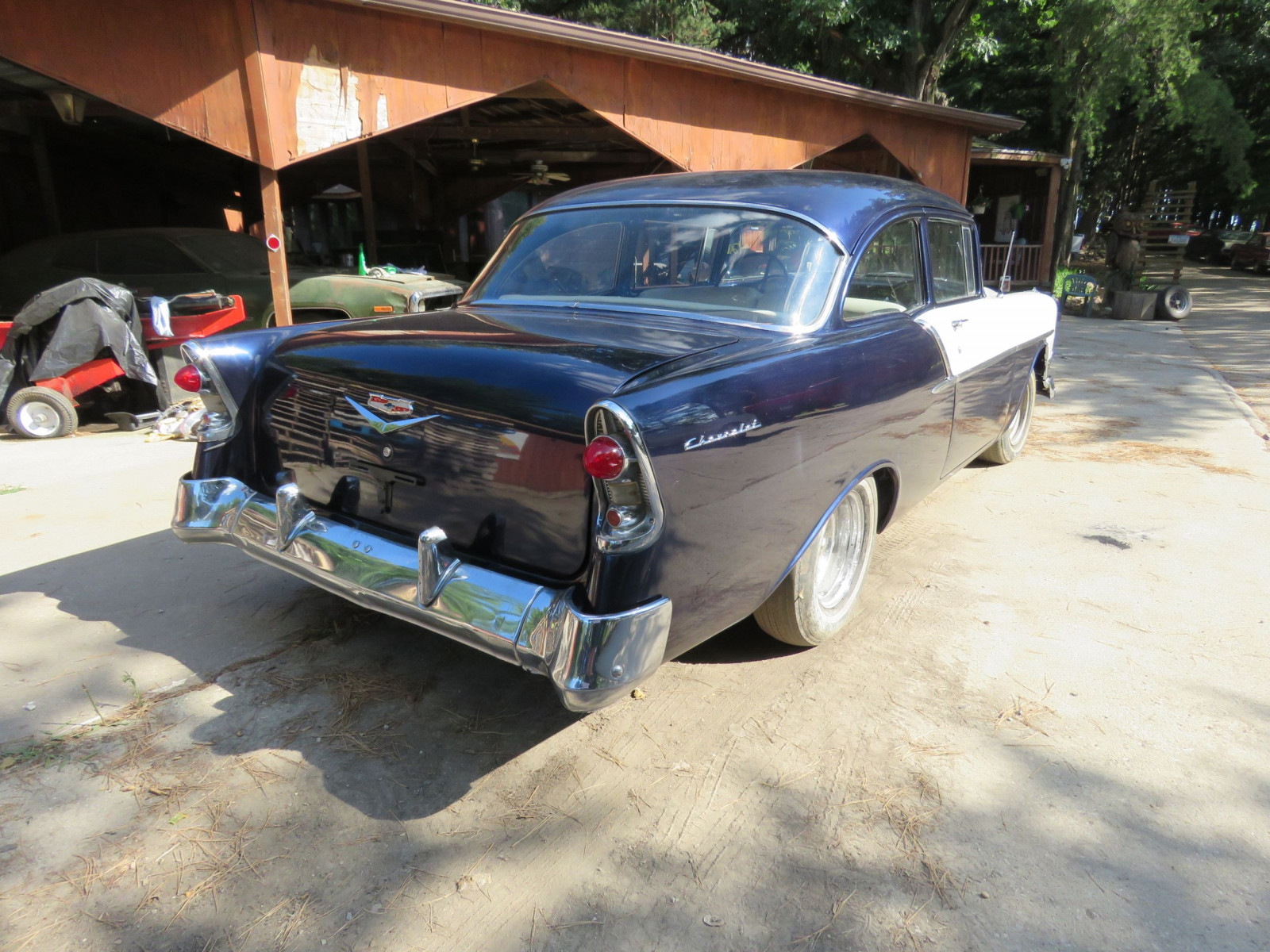 1956 Chevrolet Custom 2dr Post - Image 4