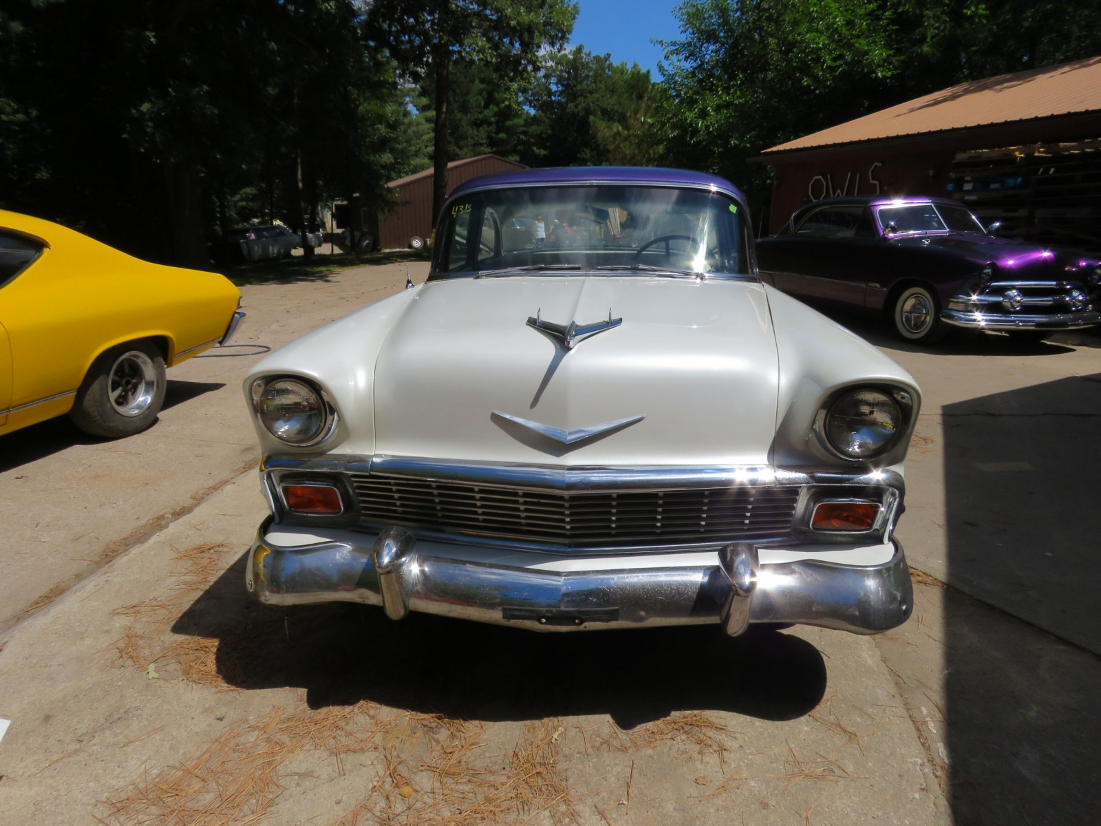 1956 Chevrolet Custom 2dr Post - Image 2
