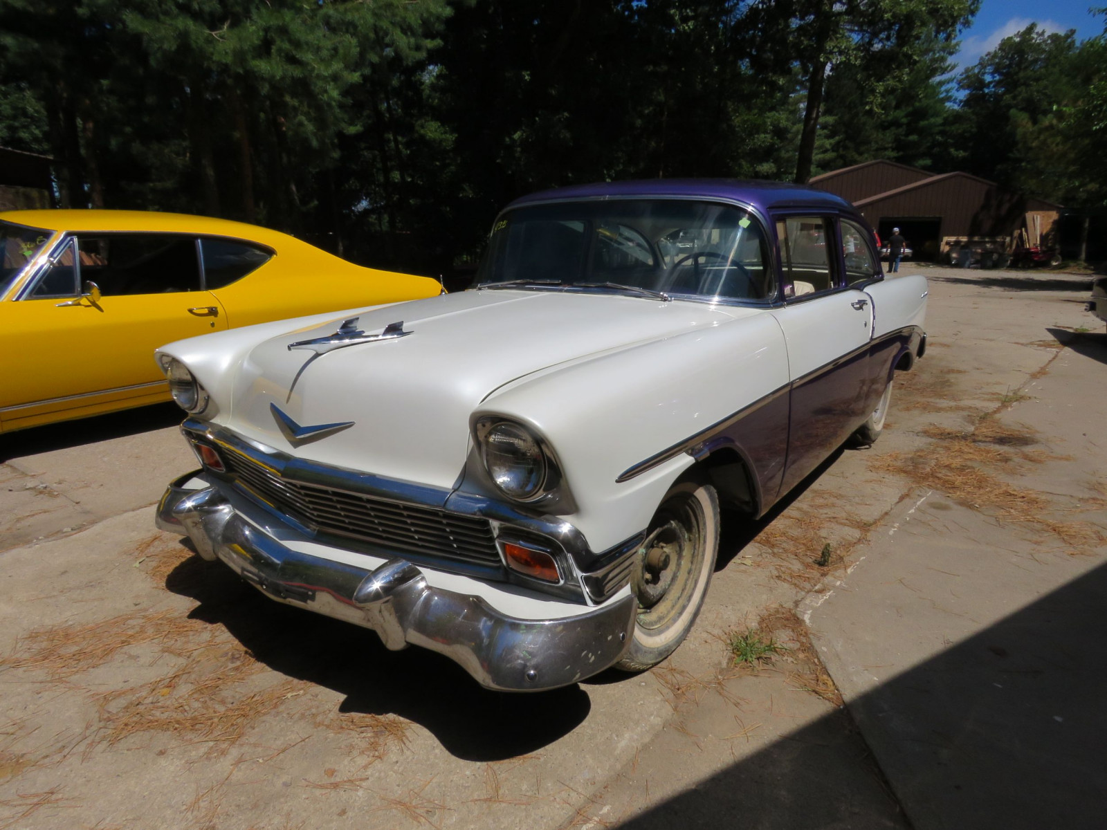 1956 Chevrolet Custom 2dr Post - Image 3