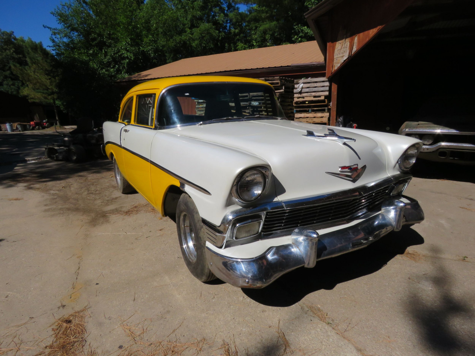1956 Chevrolet Custom 2dr Post - Image 1