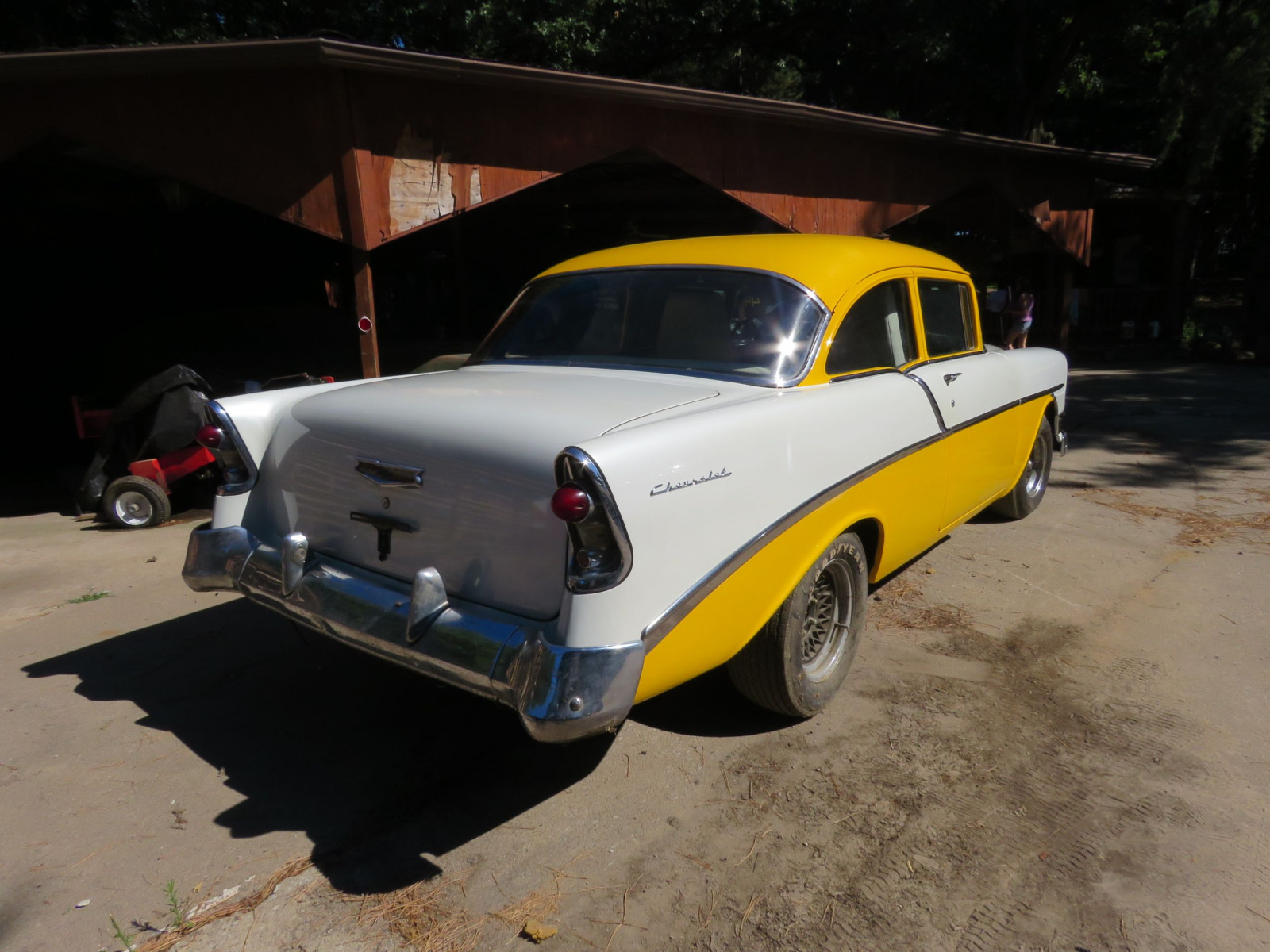 1956 Chevrolet Custom 2dr Post - Image 6