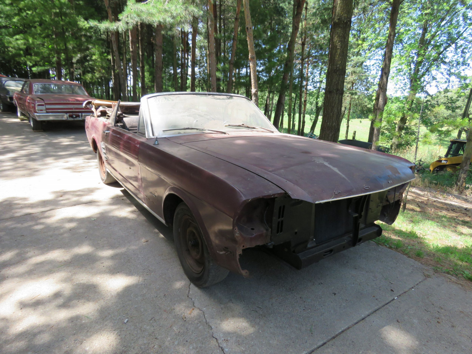 1966 Ford Mustang Convertible Project - Image 1