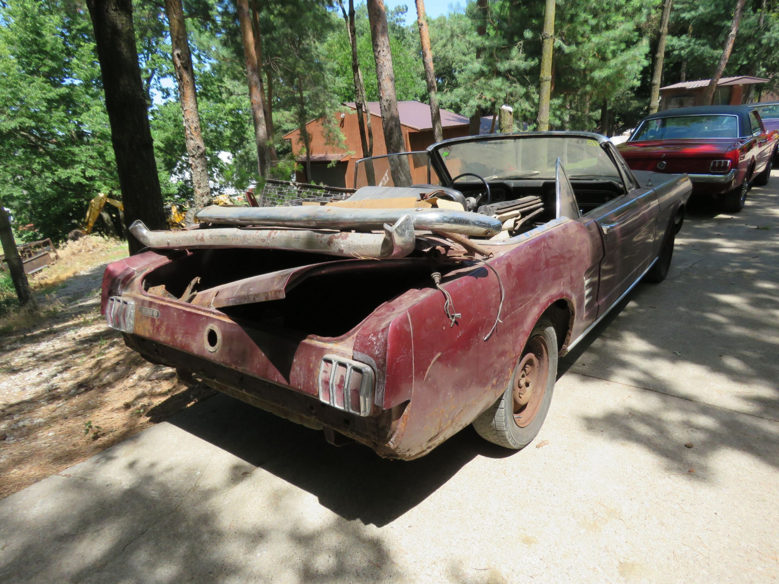 1966 Ford Mustang Convertible Project - Image 4