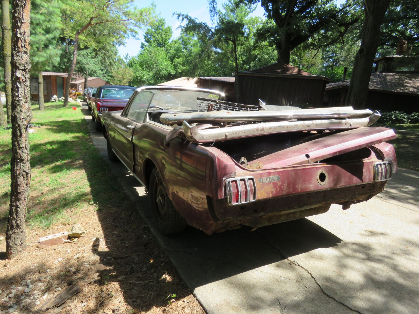 1966 Ford Mustang Convertible Project - Image 6