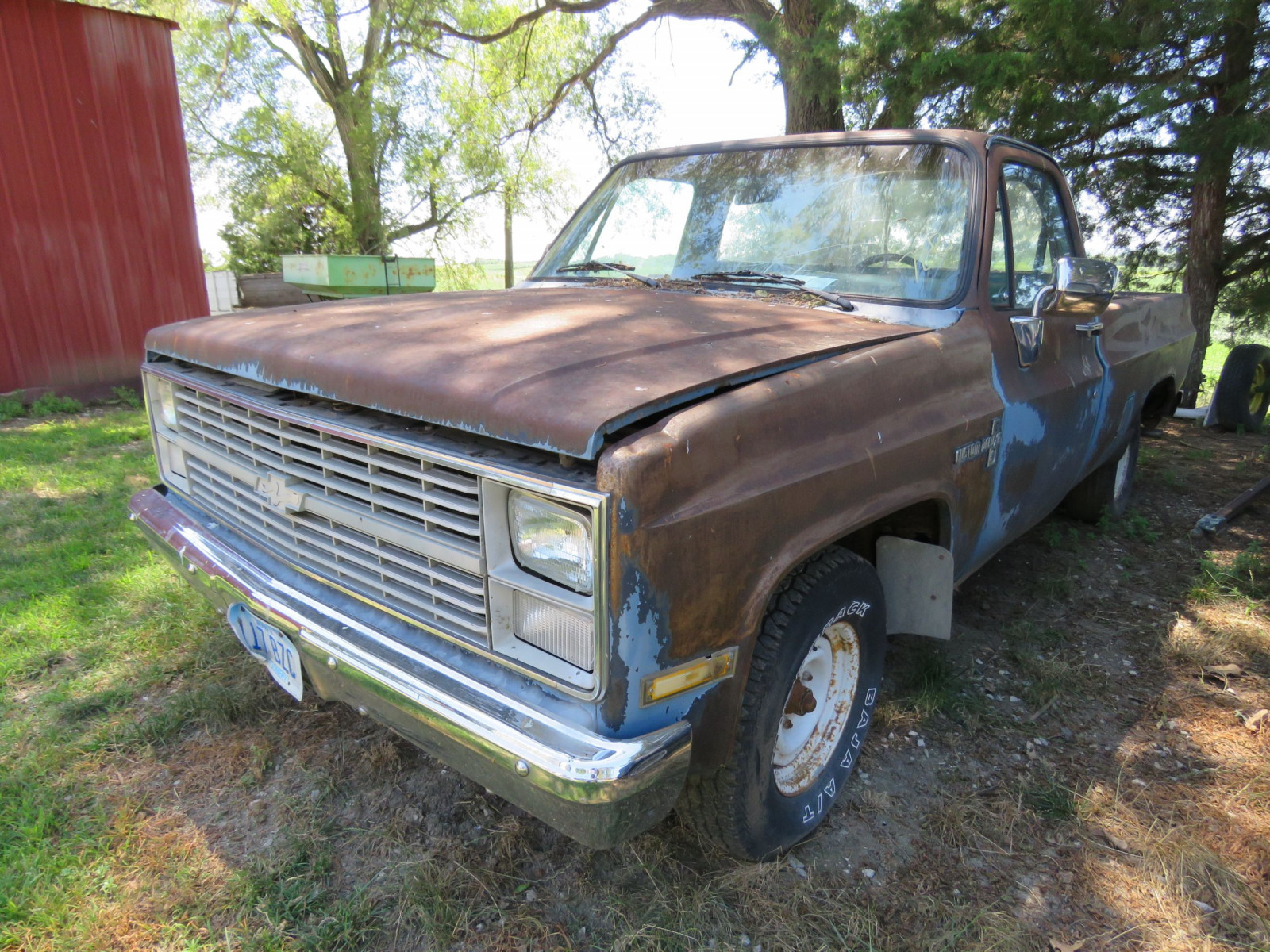 1984 Chevrolet Custom Deluxe 10 Pickup for Restore - Image 1