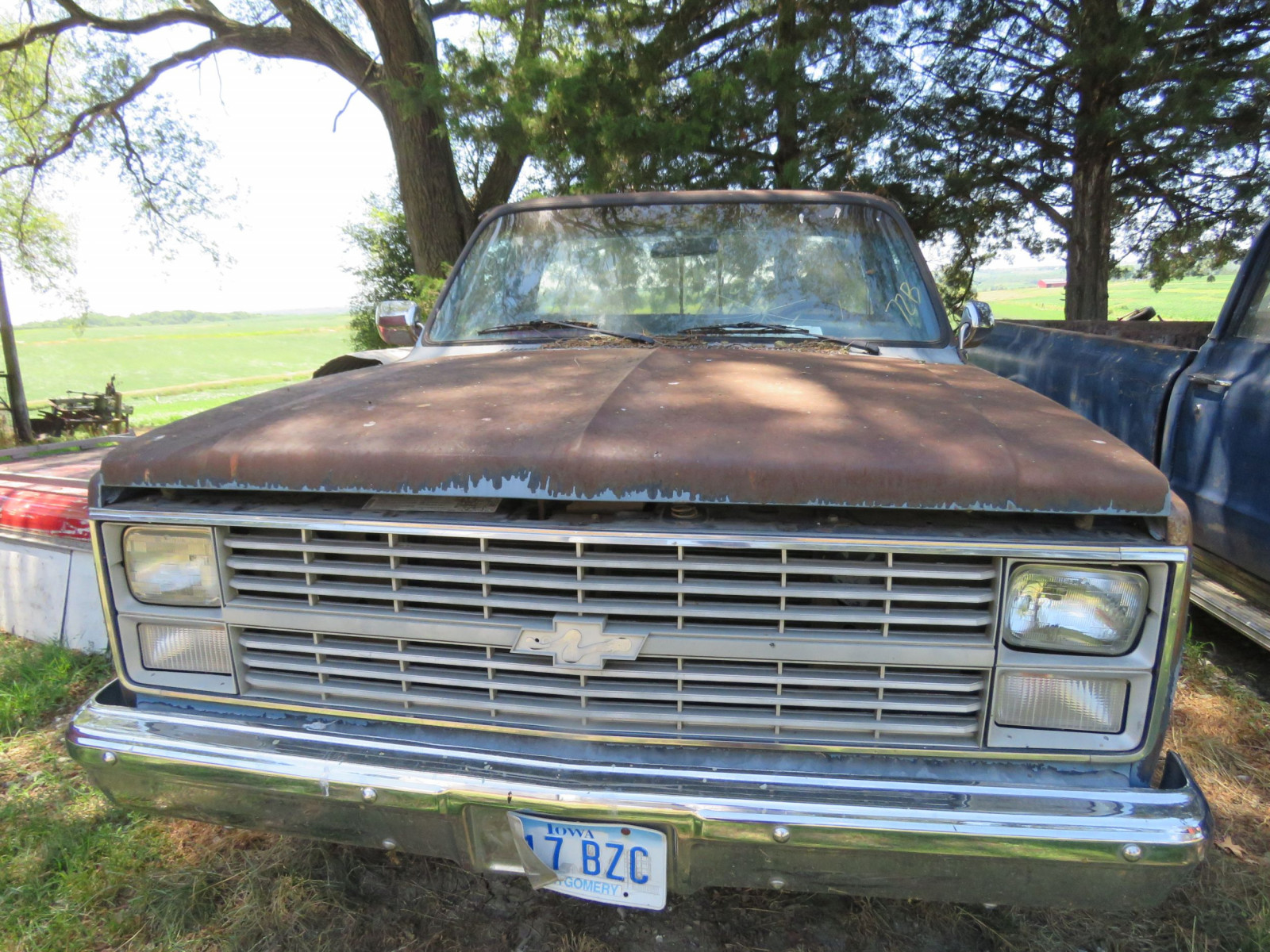 1984 Chevrolet Custom Deluxe 10 Pickup for Restore - Image 2