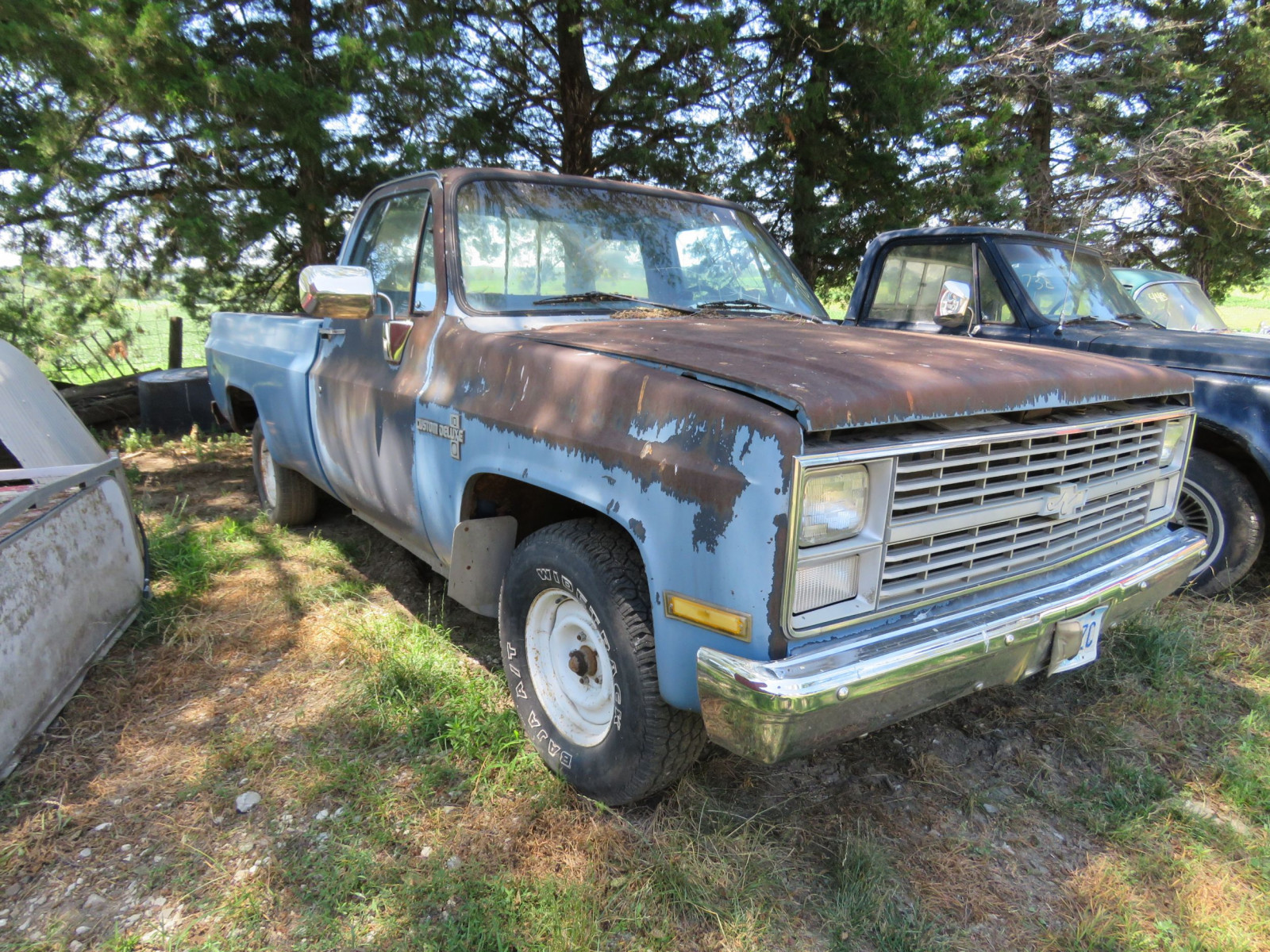 1984 Chevrolet Custom Deluxe 10 Pickup for Restore - Image 3