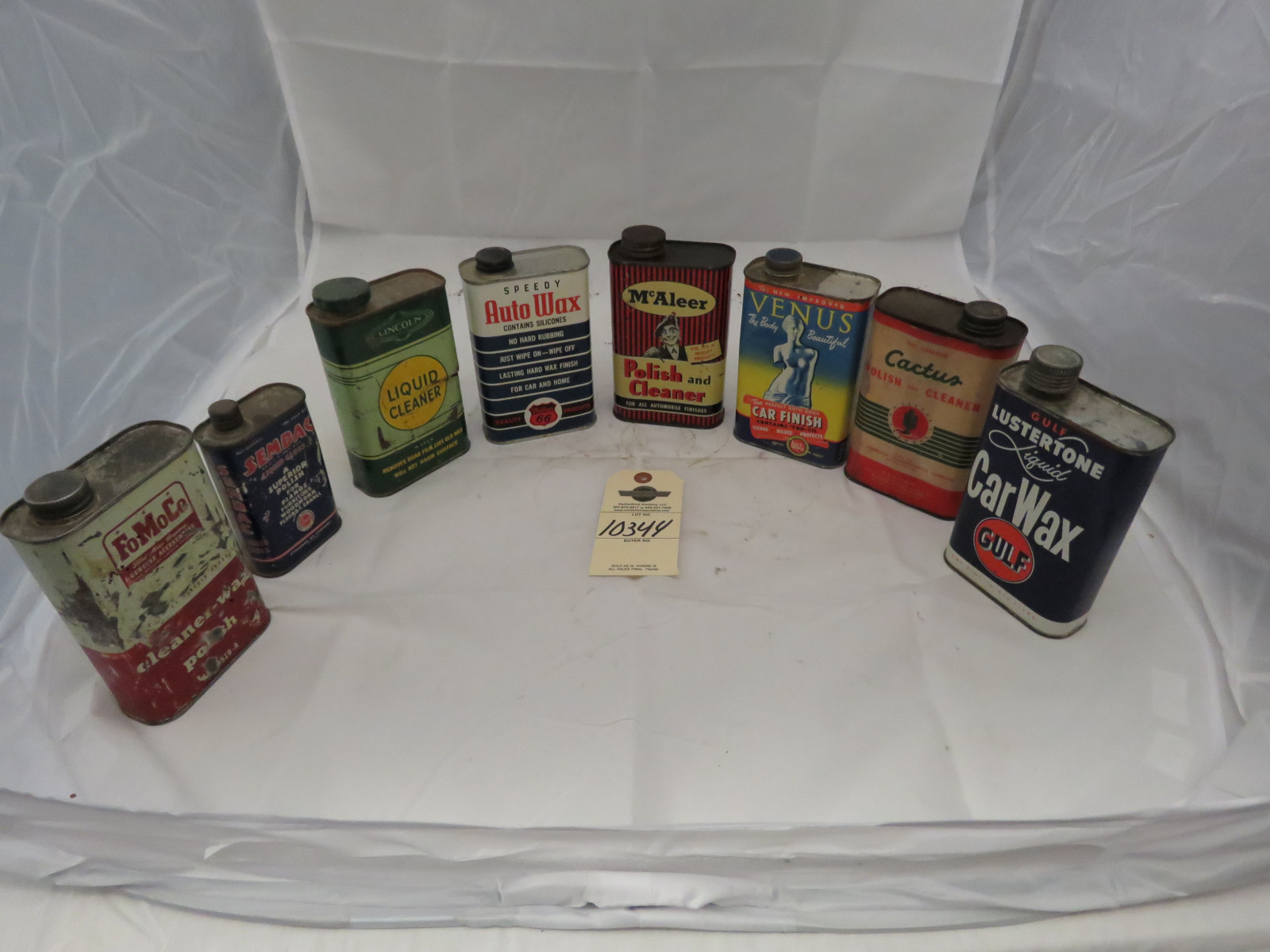 Vintage Waxes and Cleaners - Image 1