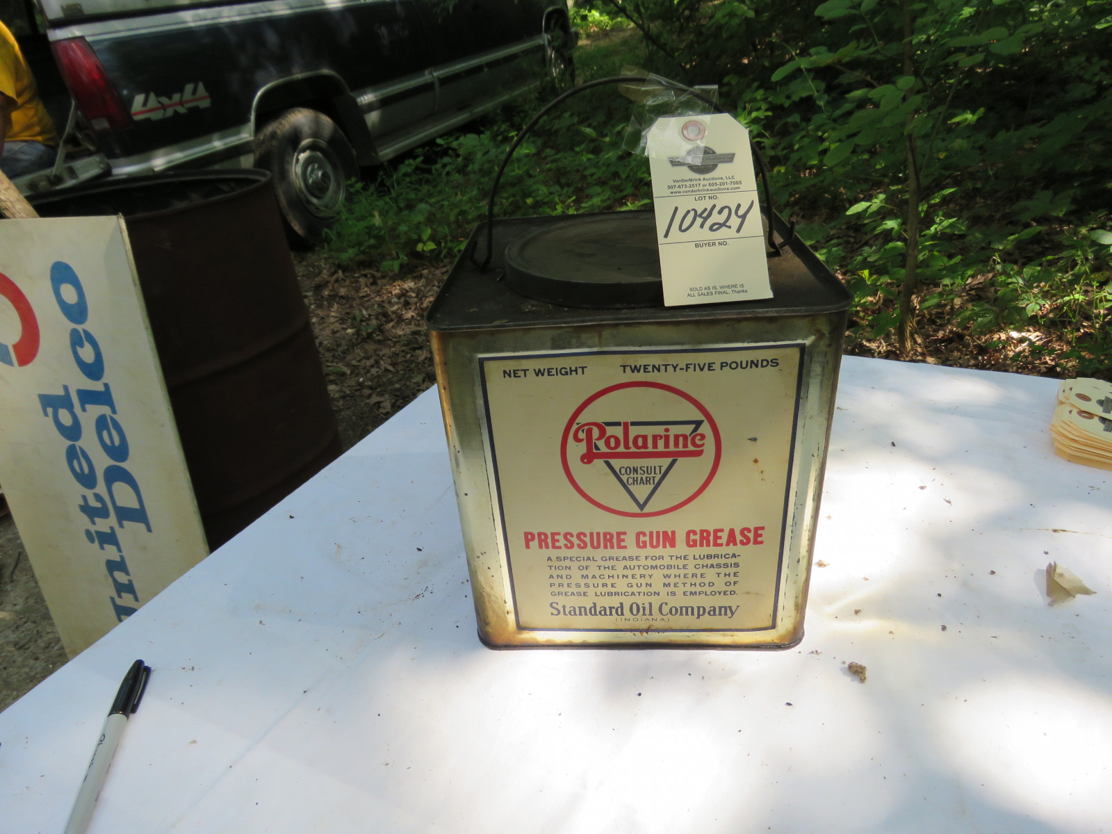 Polarine Grease Can - Image 1