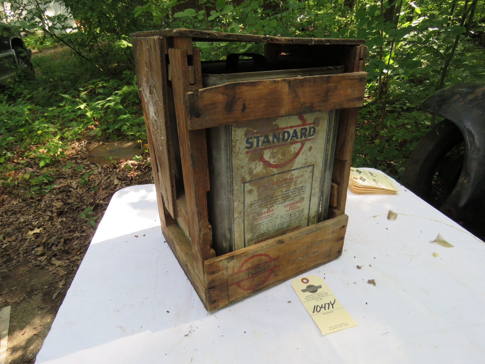 Standard Oil Can- Empty - Image 2