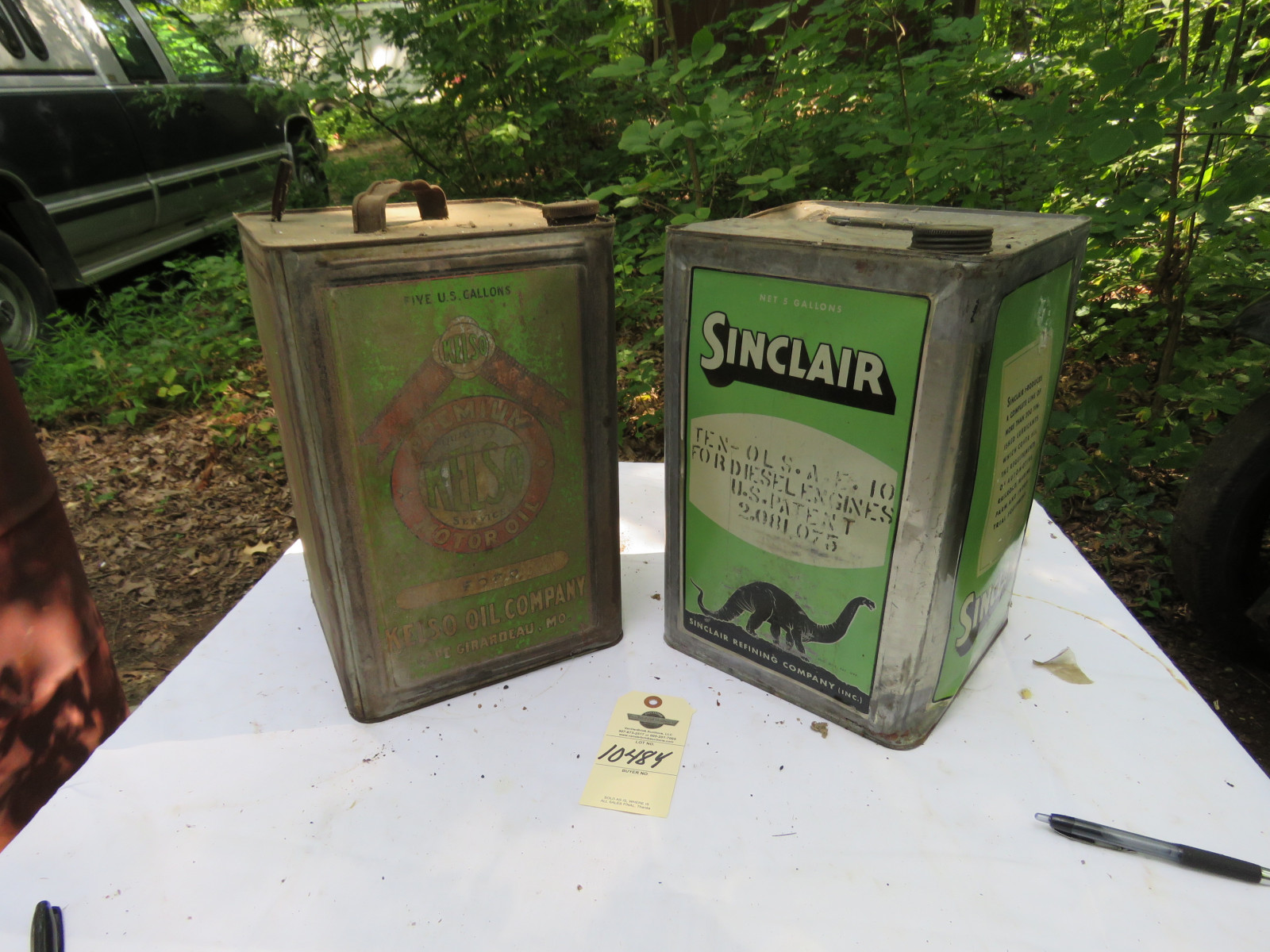 Sinclair & Kelso 5 Gallon Cans - Image 1