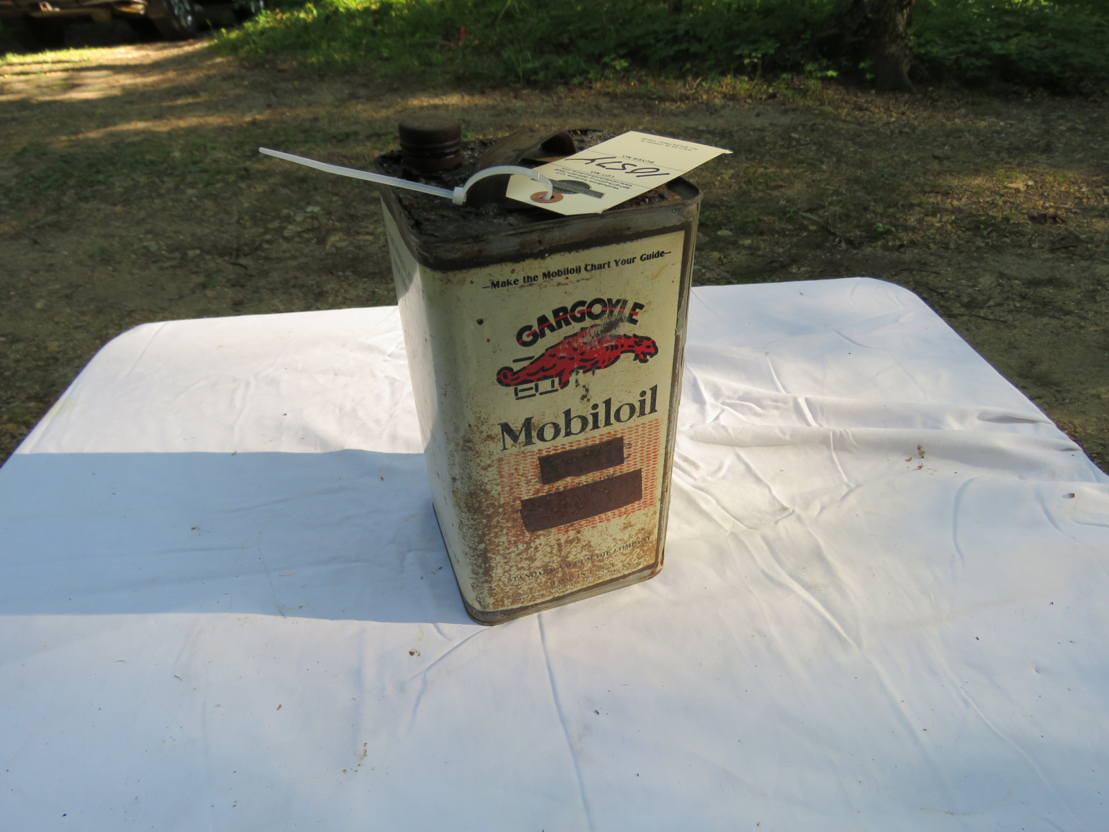 MObilOil Can - Image 2