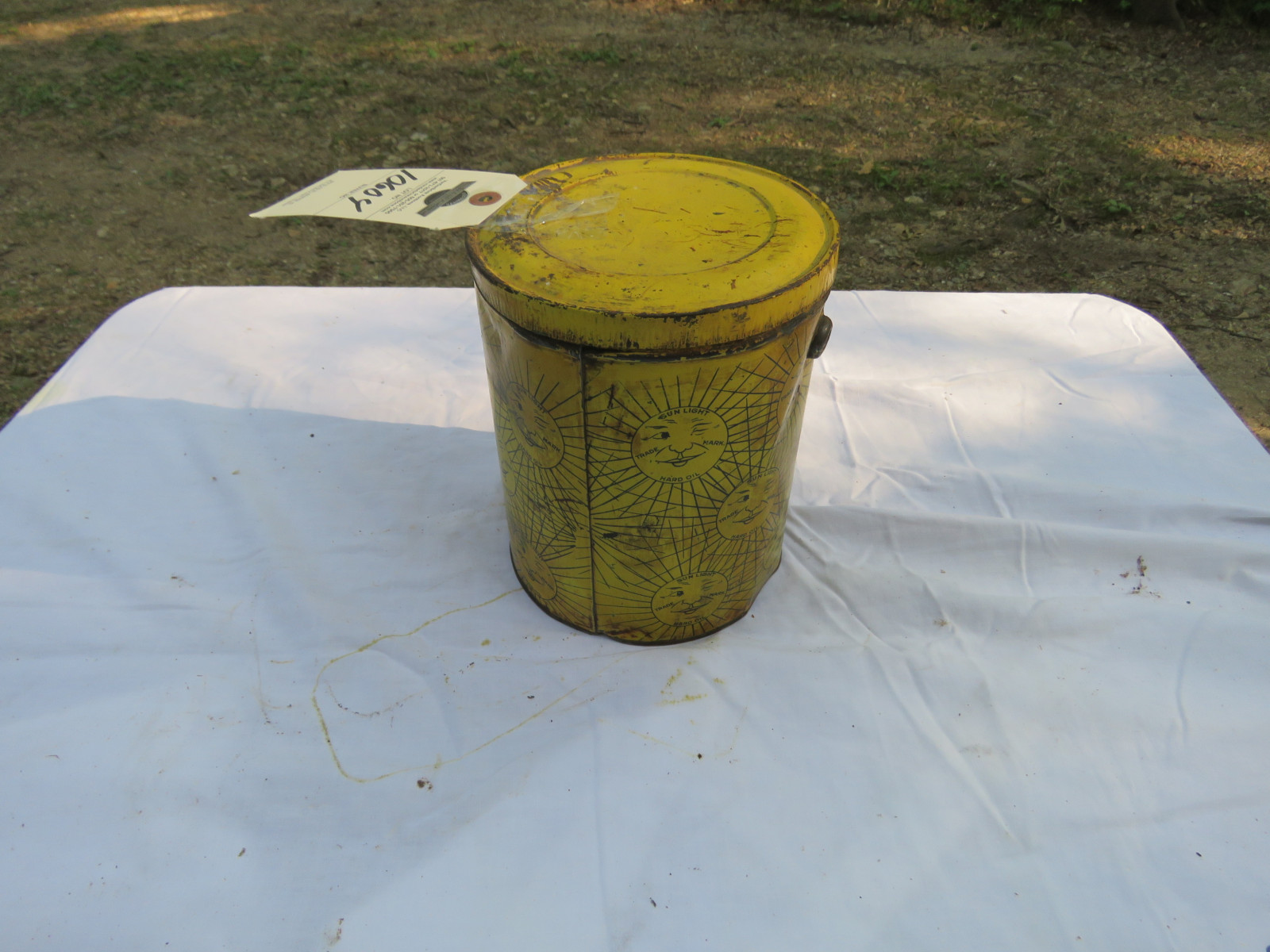 Sunlight Axle Grease Can - Image 2