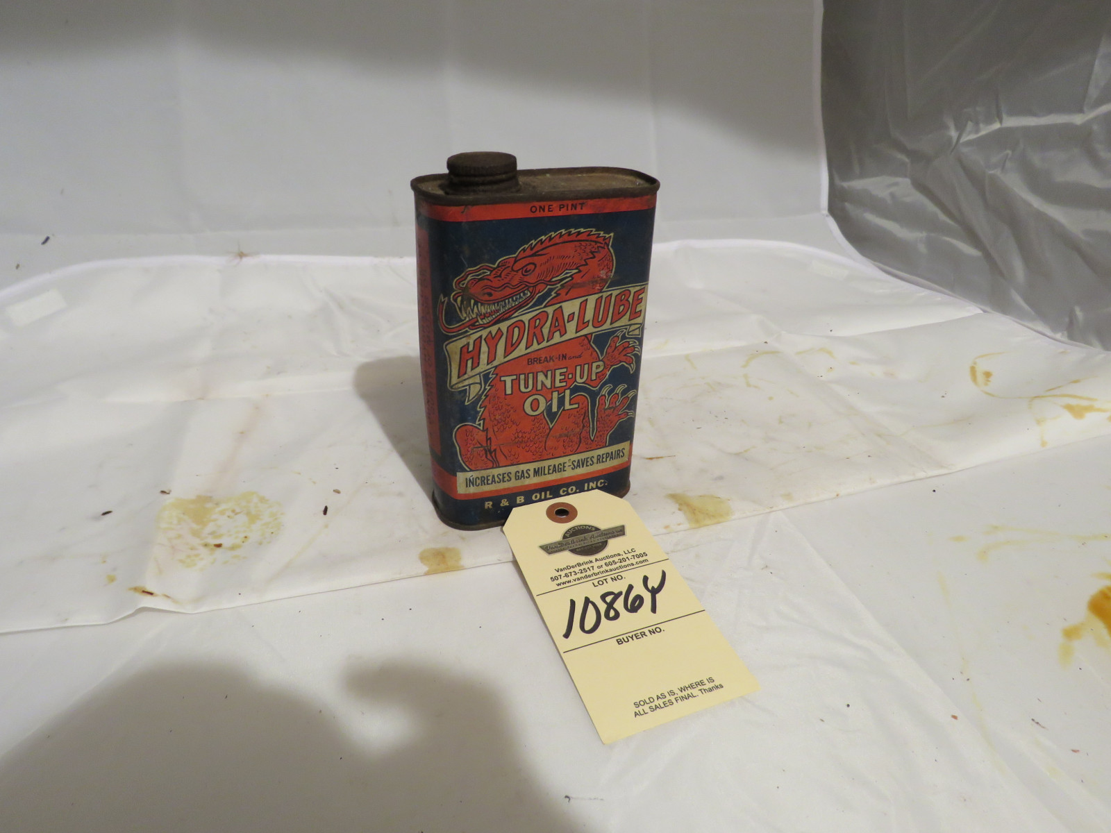 Hydrolube Oil Can - Image 1