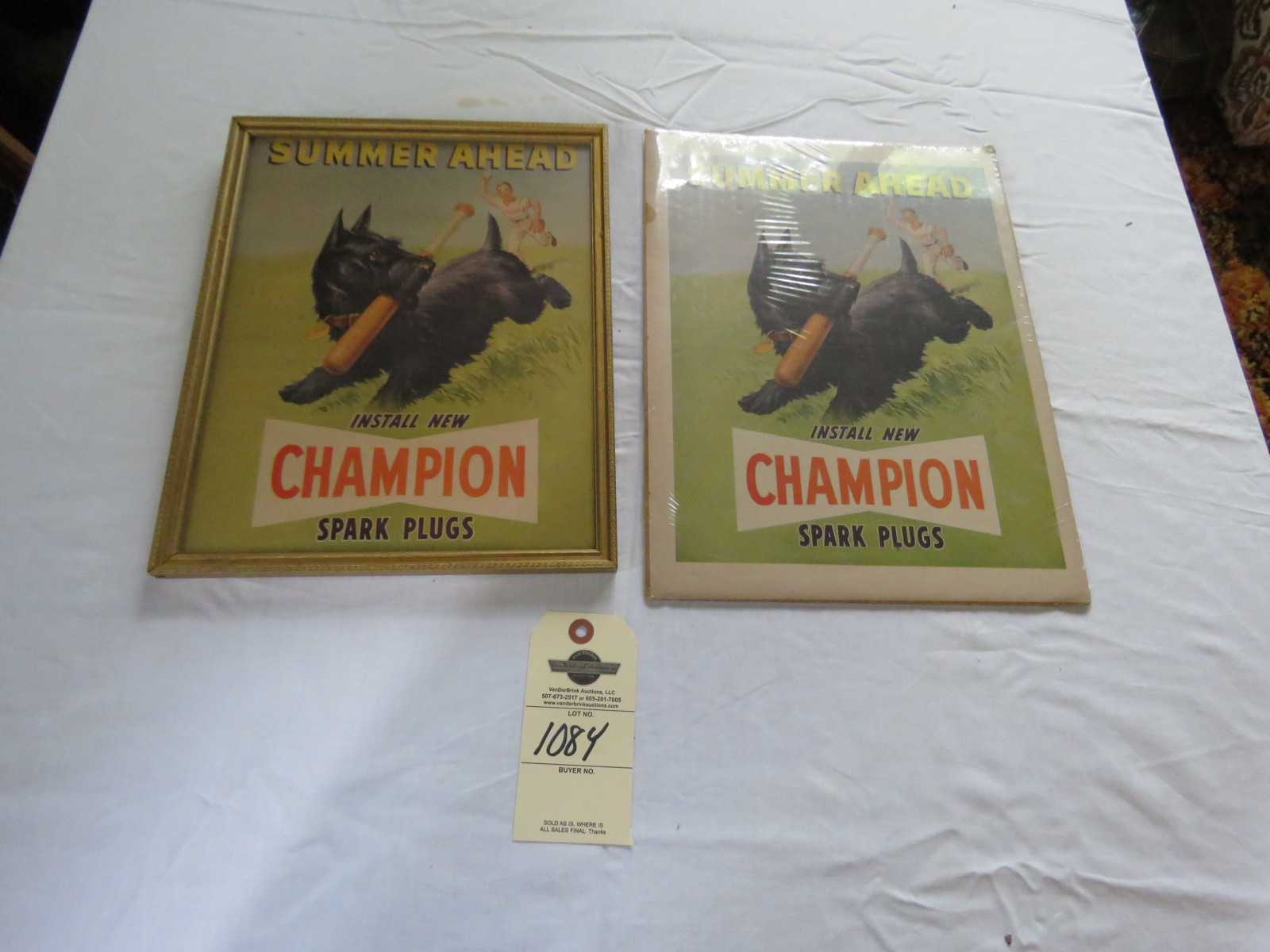 Vintage Champion Spark Plugs Advertising Grouping - Image 2