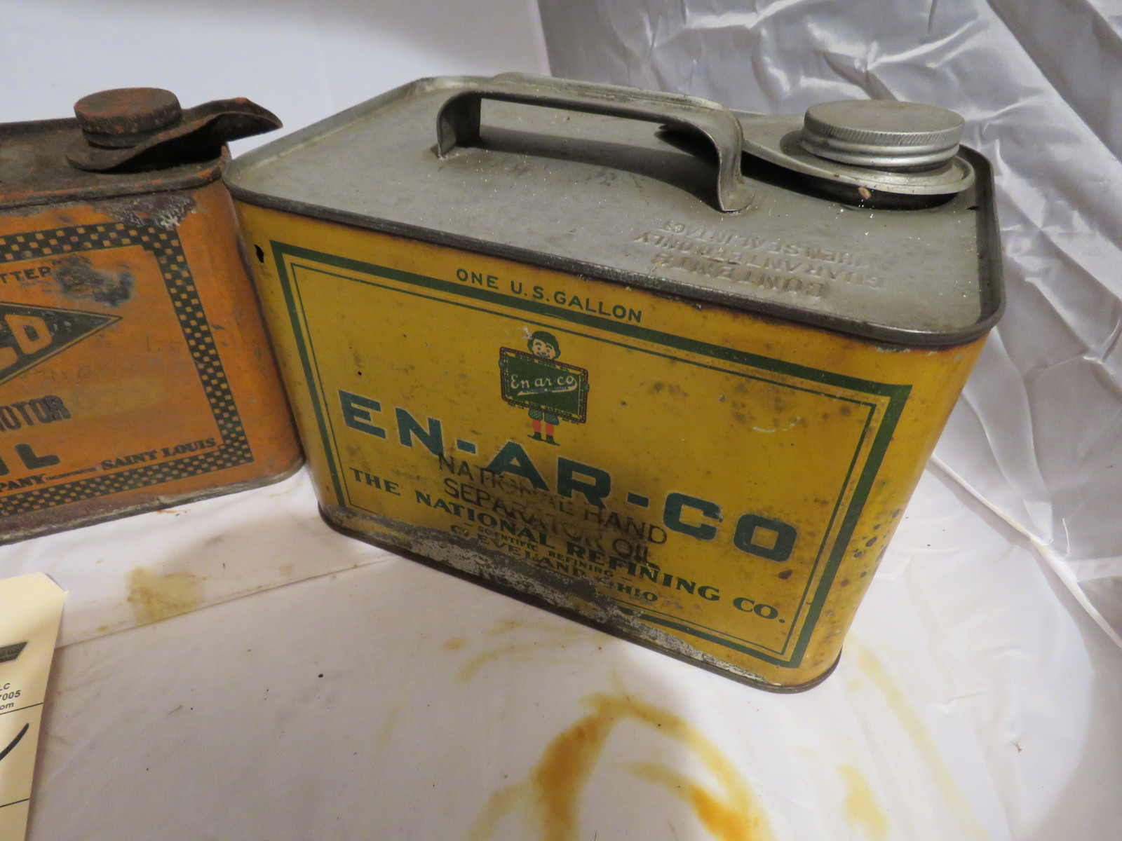 Vintage Oil Can Grouping - Image 4