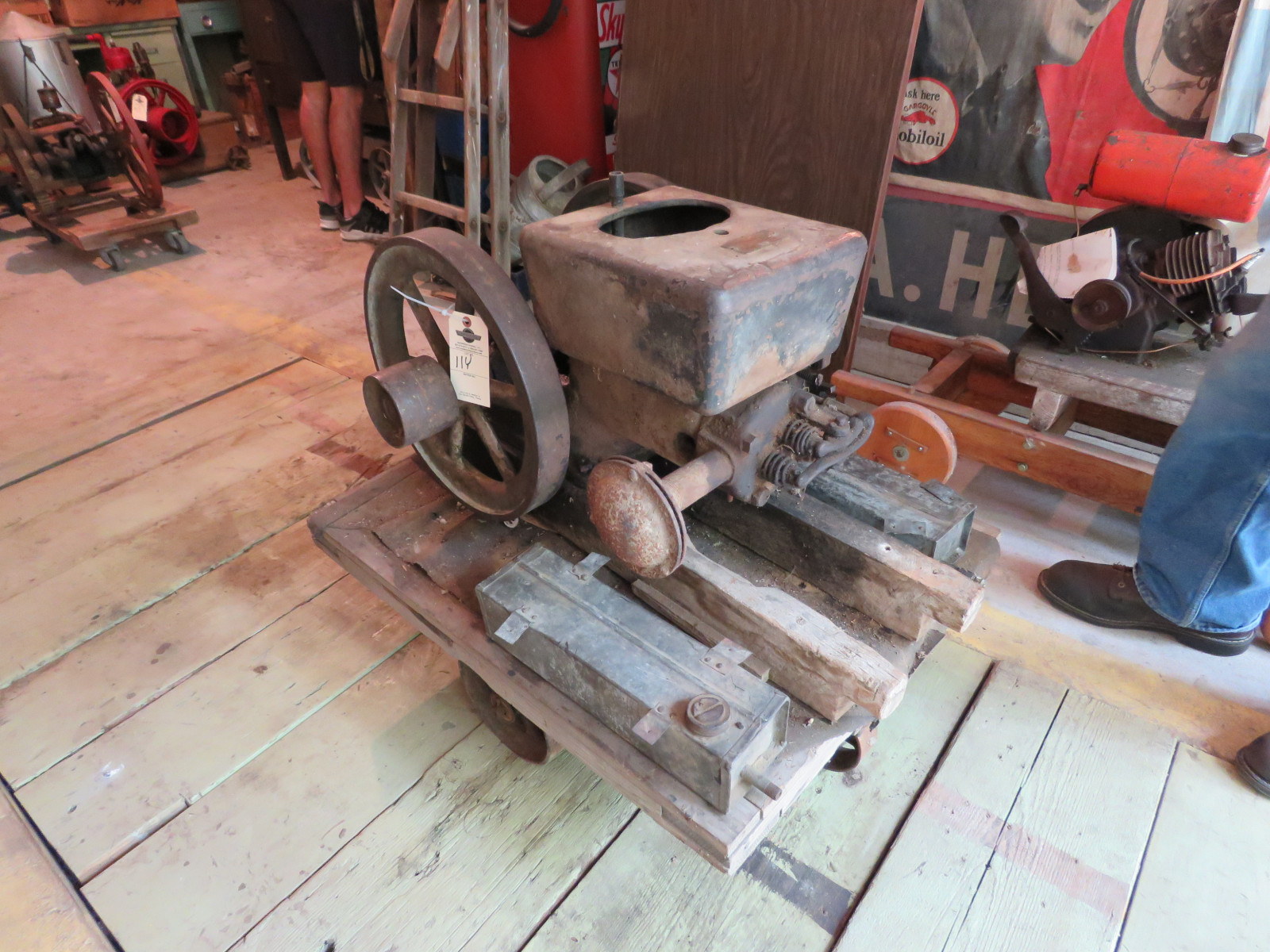 Ottawa 4HP Stationary Gas Engine - Image 1