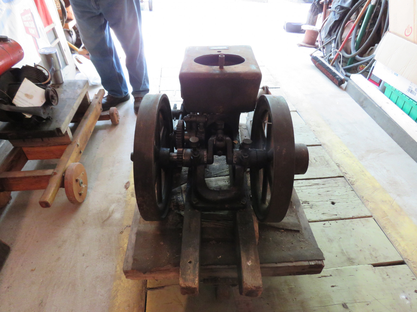 Ottawa 4HP Stationary Gas Engine - Image 3