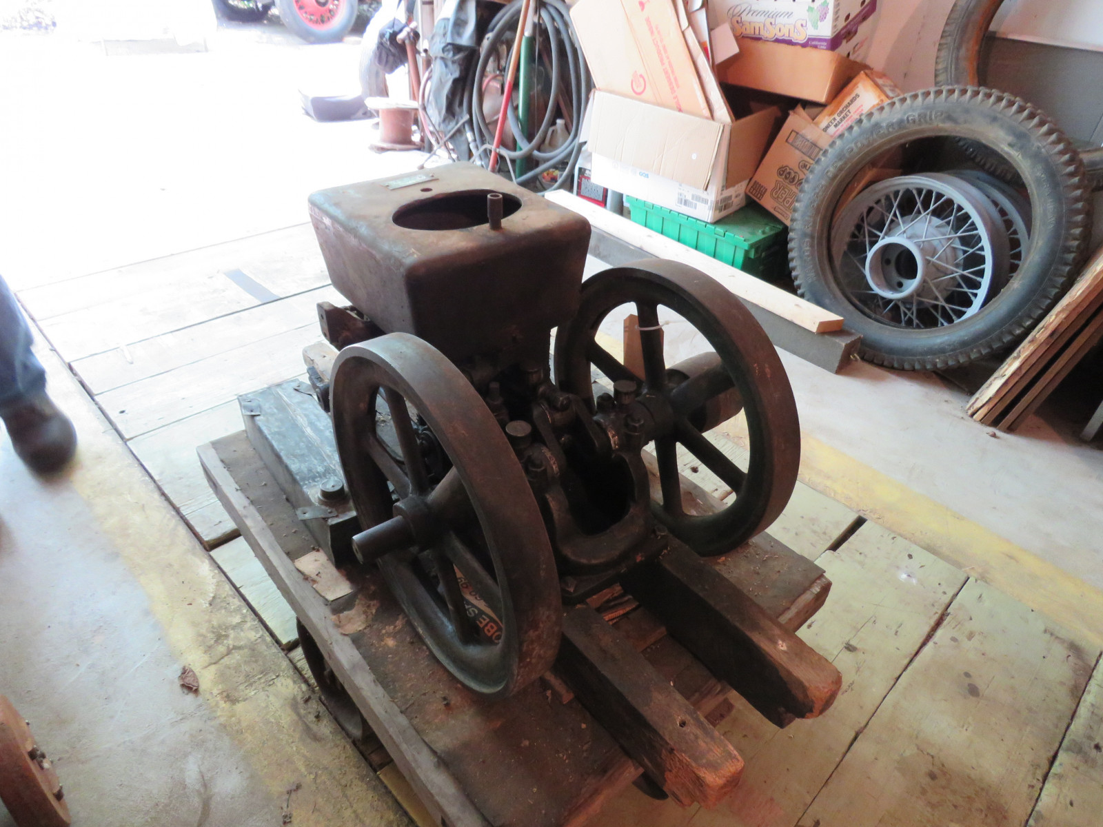 Ottawa 4HP Stationary Gas Engine - Image 4