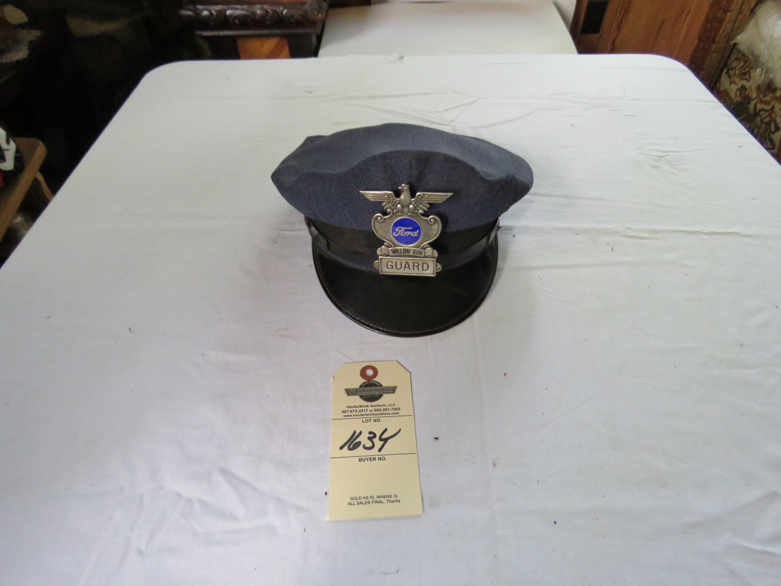 Ford Security Hat - Image 1