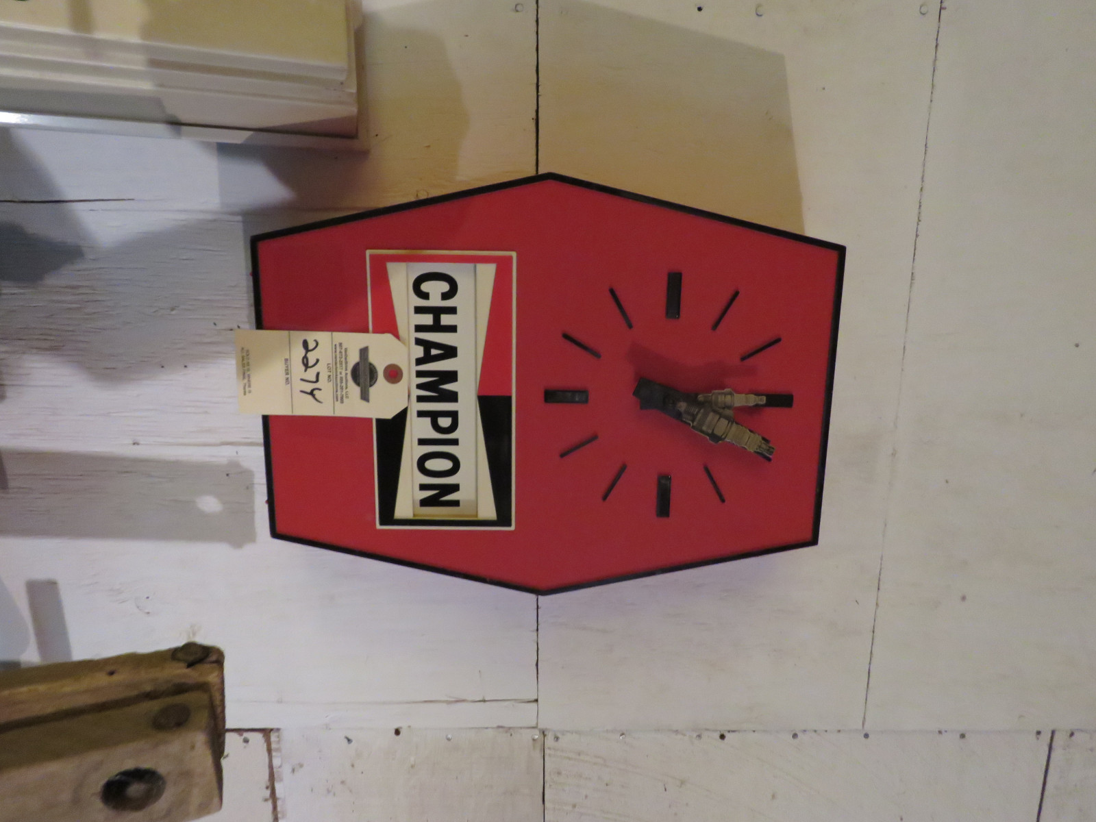 Champion & NGK Advertising Clocks - Image 1