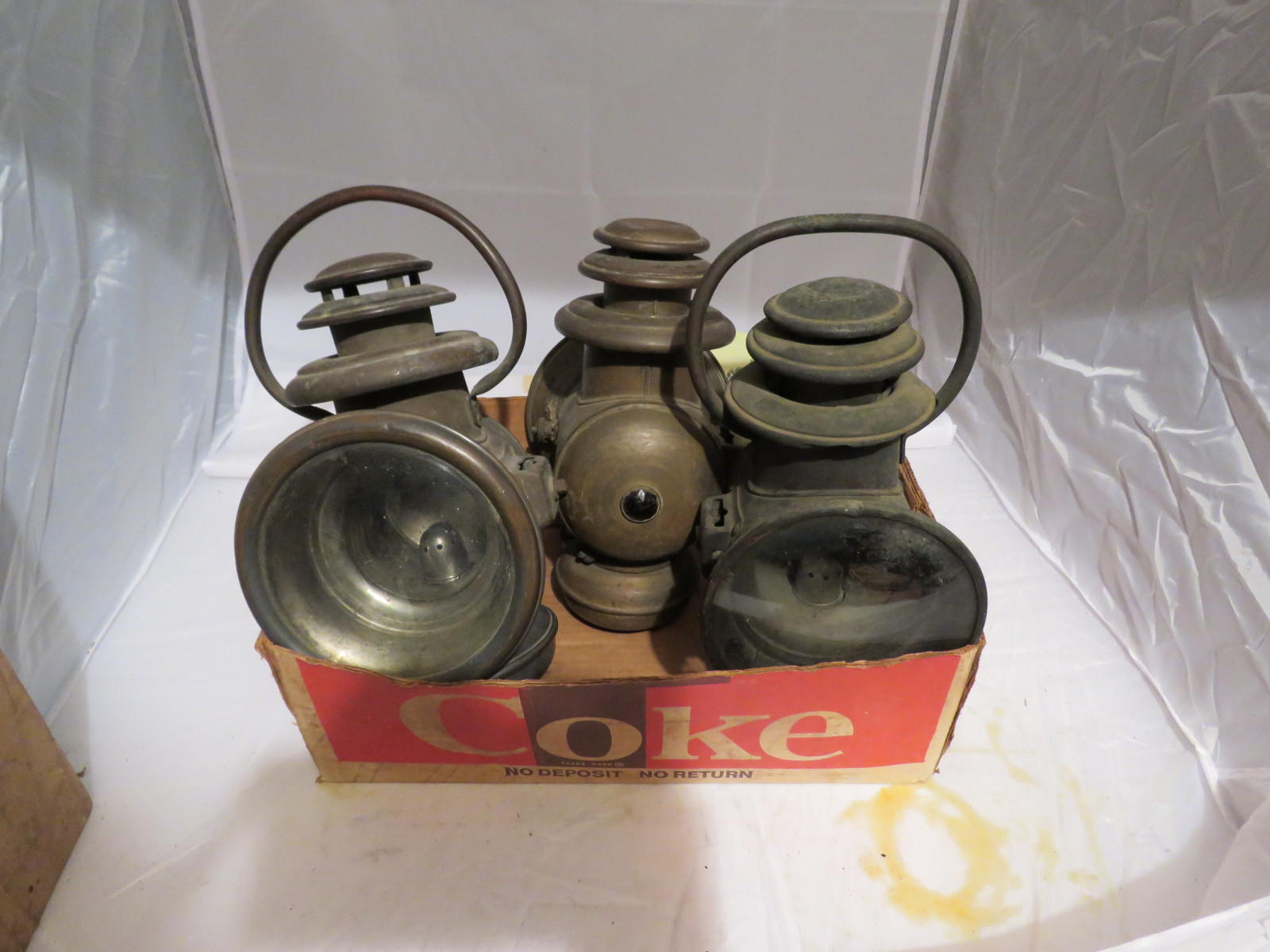 Vintage Side Light Grouping - Image 1