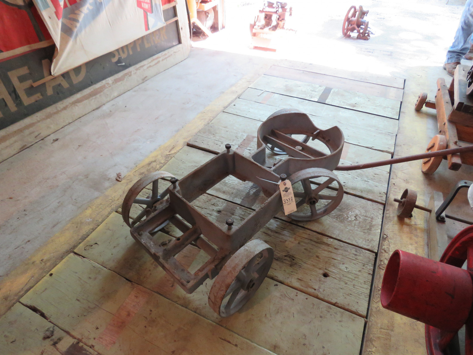 Rare Banjo Stationary Engine Cart - Image 2