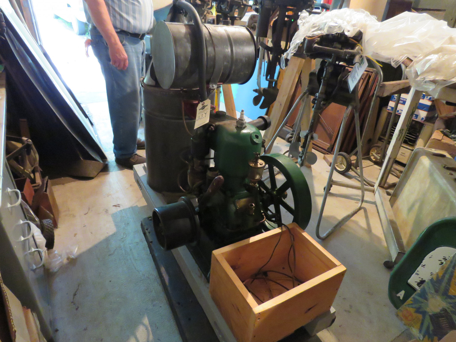 Cushman 4hp Stationary Engine - Image 1